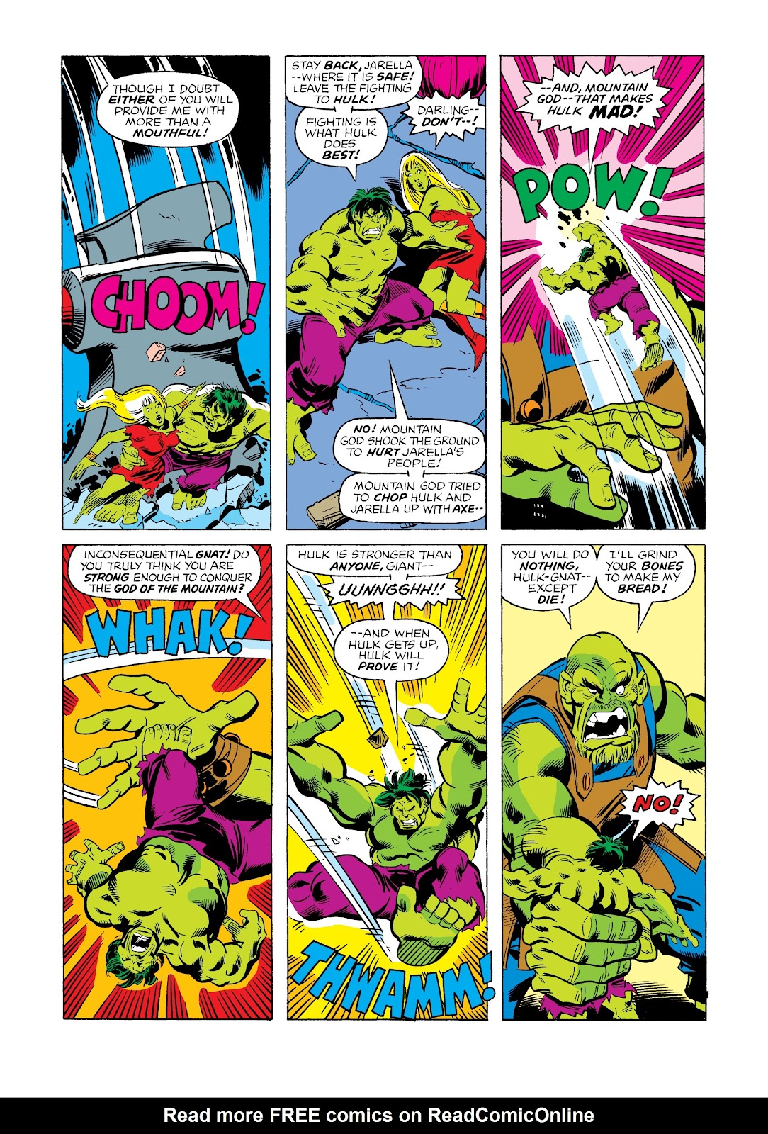 Read online Marvel Masterworks: The Incredible Hulk comic -  Issue # TPB 12 (Part 2) - 51