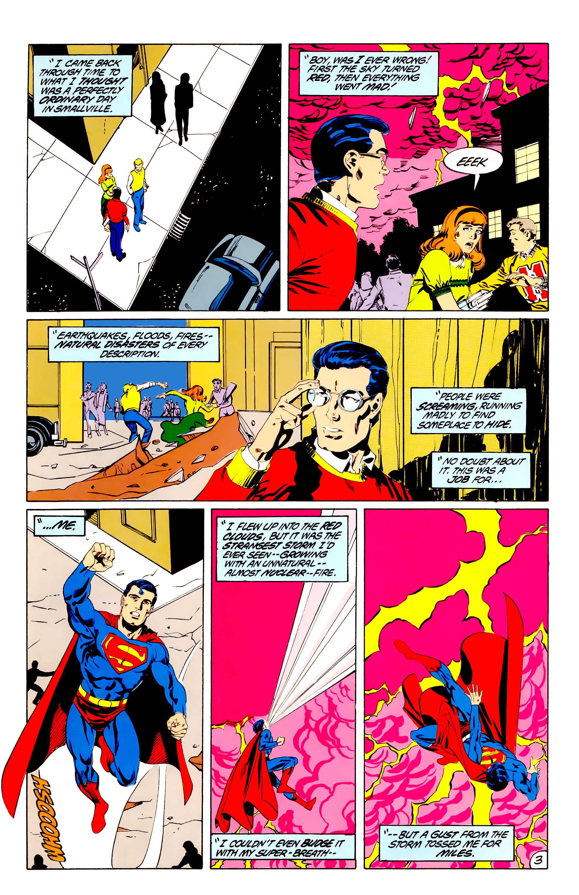 Legion of Super-Heroes (1984) 38 Page 3