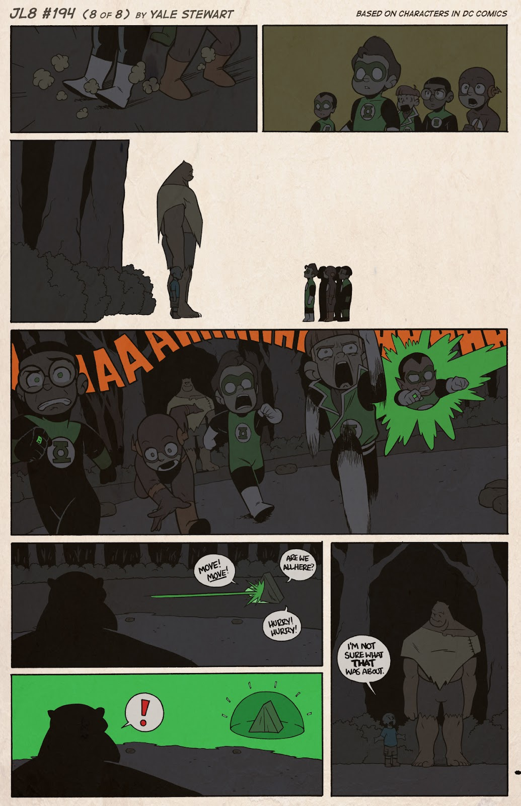 Read online JL8 – The Complete Collection comic -  Issue # TPB (Part 2) - 21