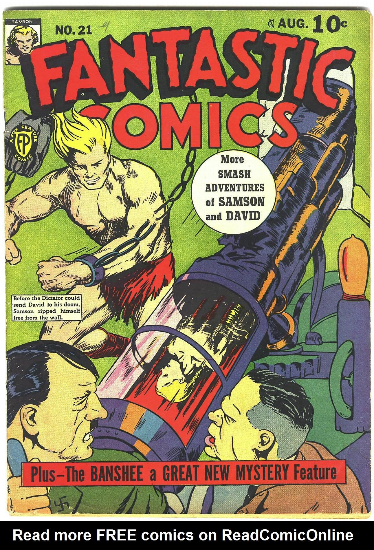 Fantastic Comics 21 Page 1