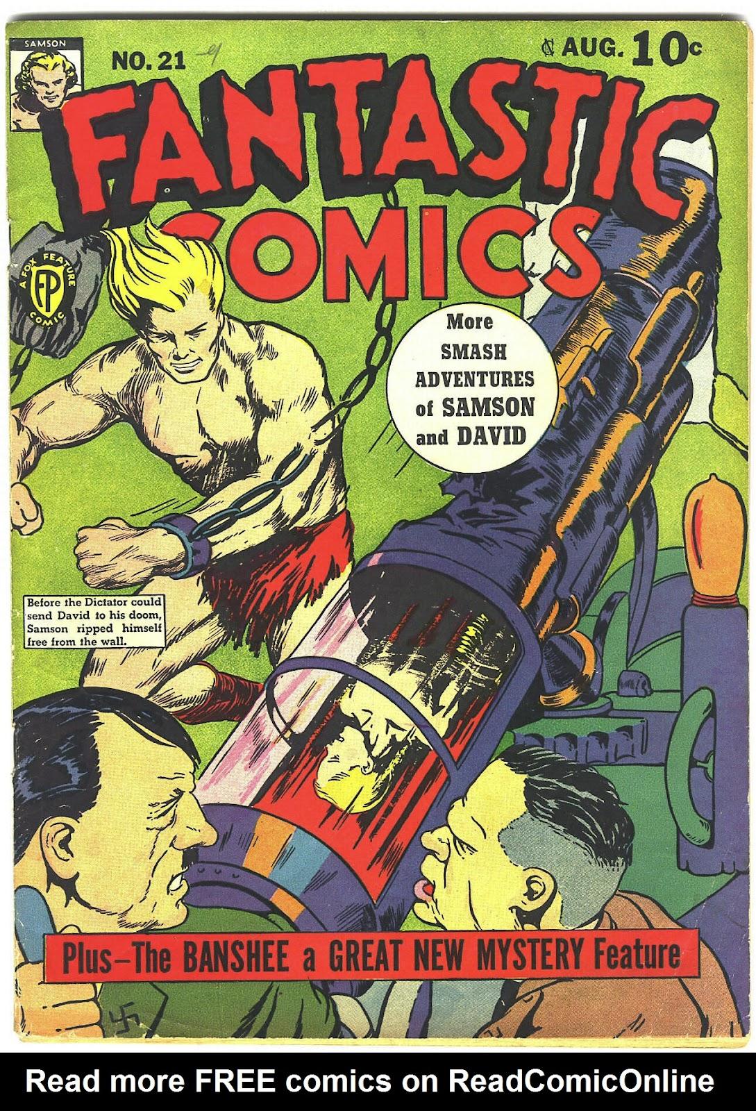 Read online Fantastic Comics comic -  Issue #21 - 1