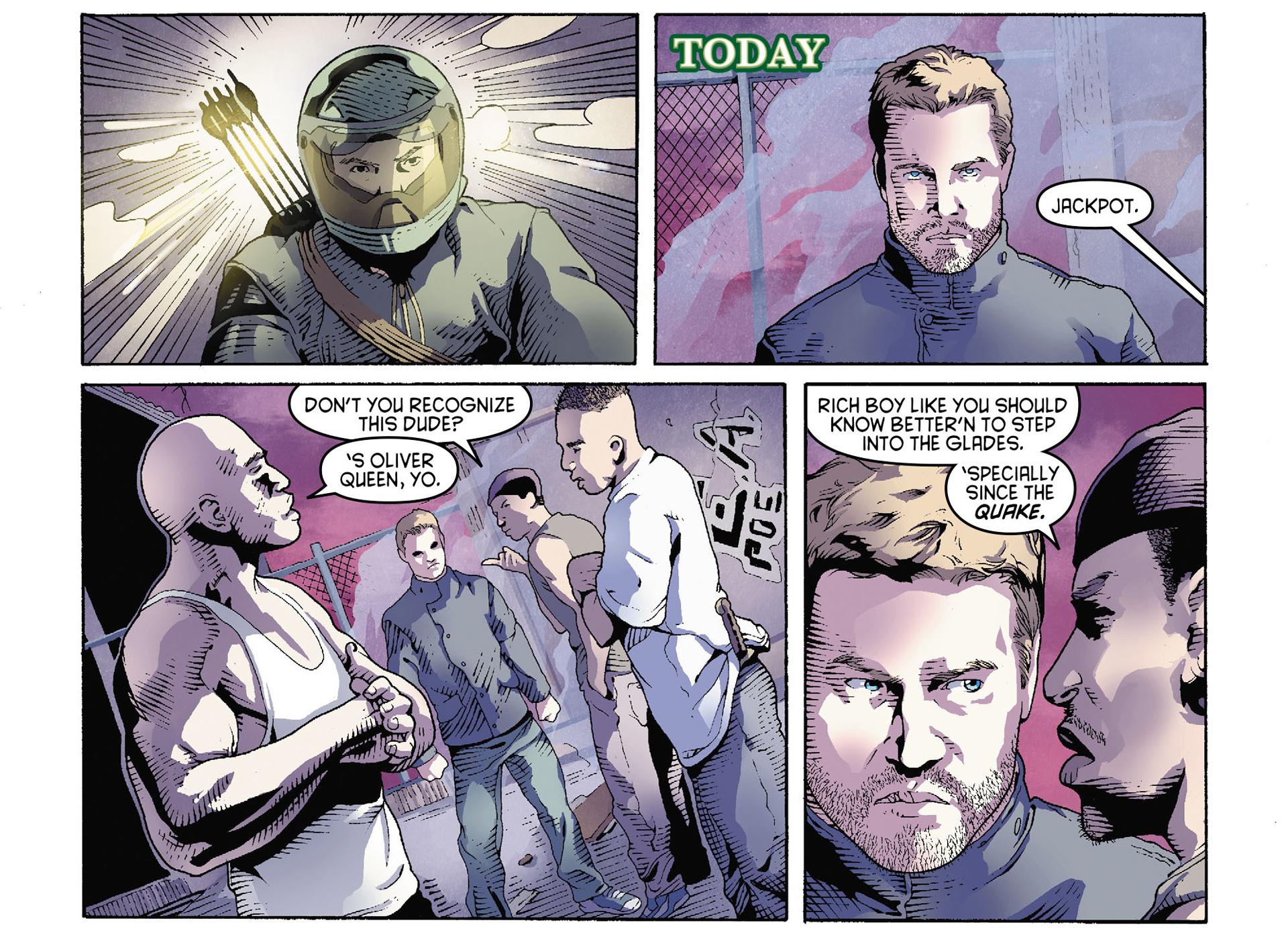 Read online Arrow [II] comic -  Issue #35 - 7