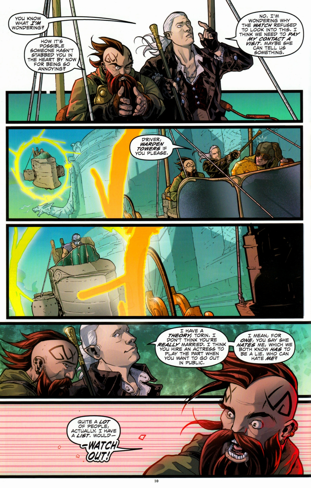Read online Infestation 2: Dungeons & Dragons comic -  Issue #1 - 13