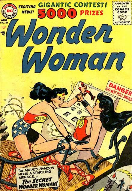 Read online Wonder Woman (1942) comic -  Issue #84 - 2