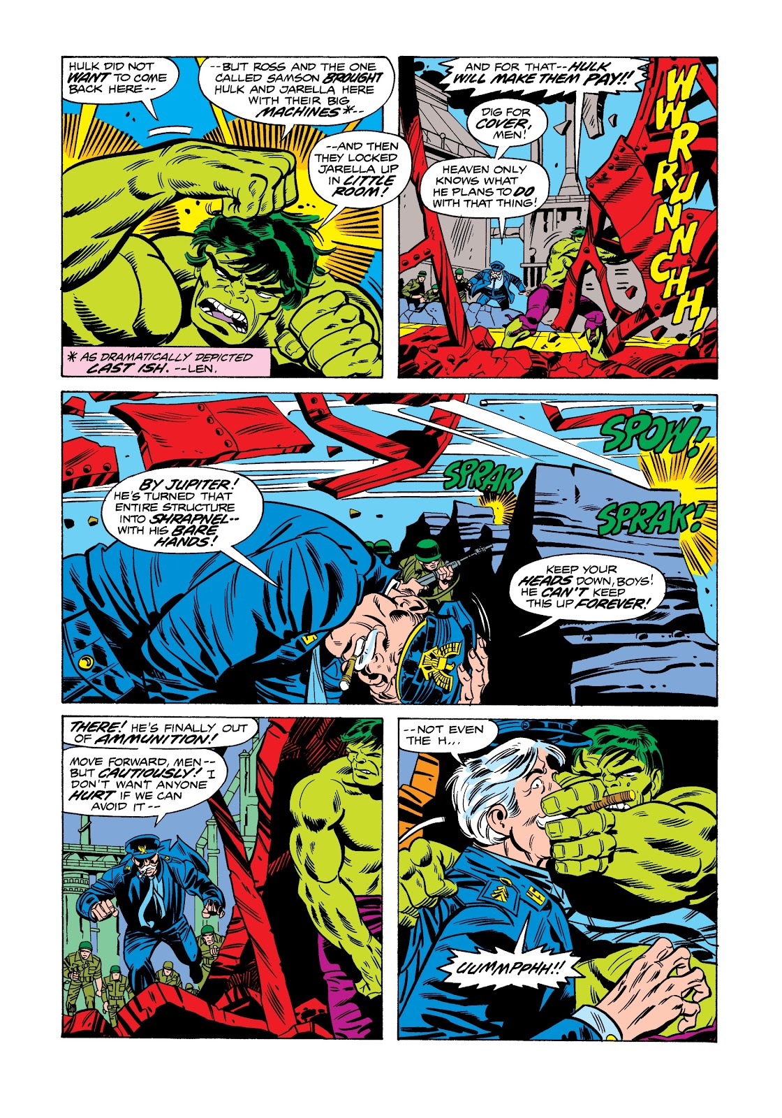 Read online Marvel Masterworks: The Incredible Hulk comic -  Issue # TPB 12 (Part 2) - 75