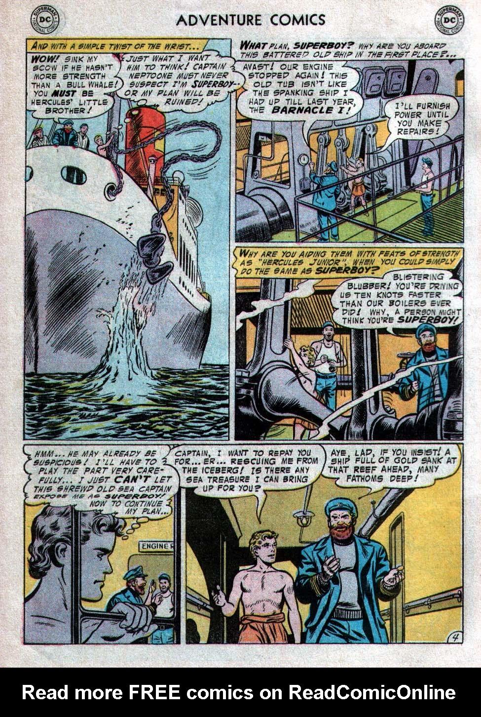 Read online Adventure Comics (1938) comic -  Issue #223 - 6