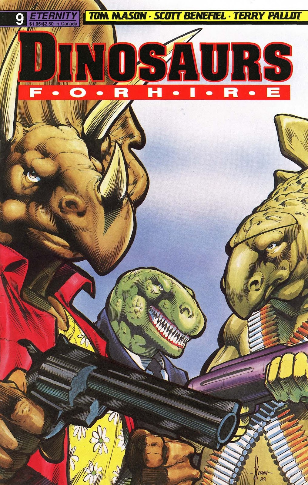 Dinosaurs For Hire (1988) issue 9 - Page 1