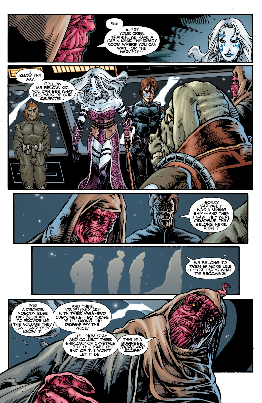 Read online Star Wars Legends: The Old Republic - Epic Collection comic -  Issue # TPB 3 (Part 2) - 28