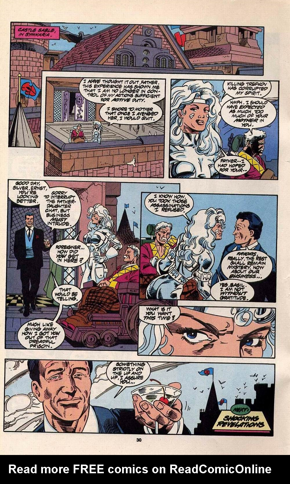 Read online Silver Sable and the Wild Pack comic -  Issue #30 - 23