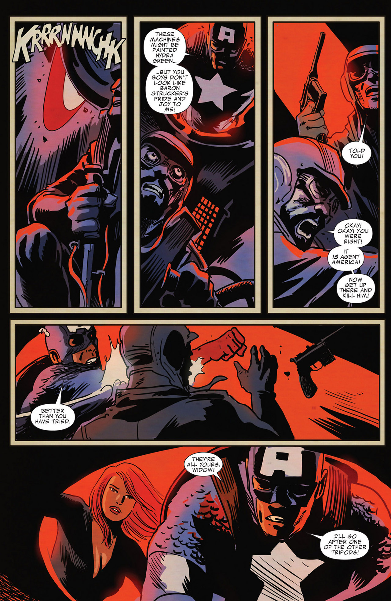 Read online Captain America And Black Widow comic -  Issue #638 - 14