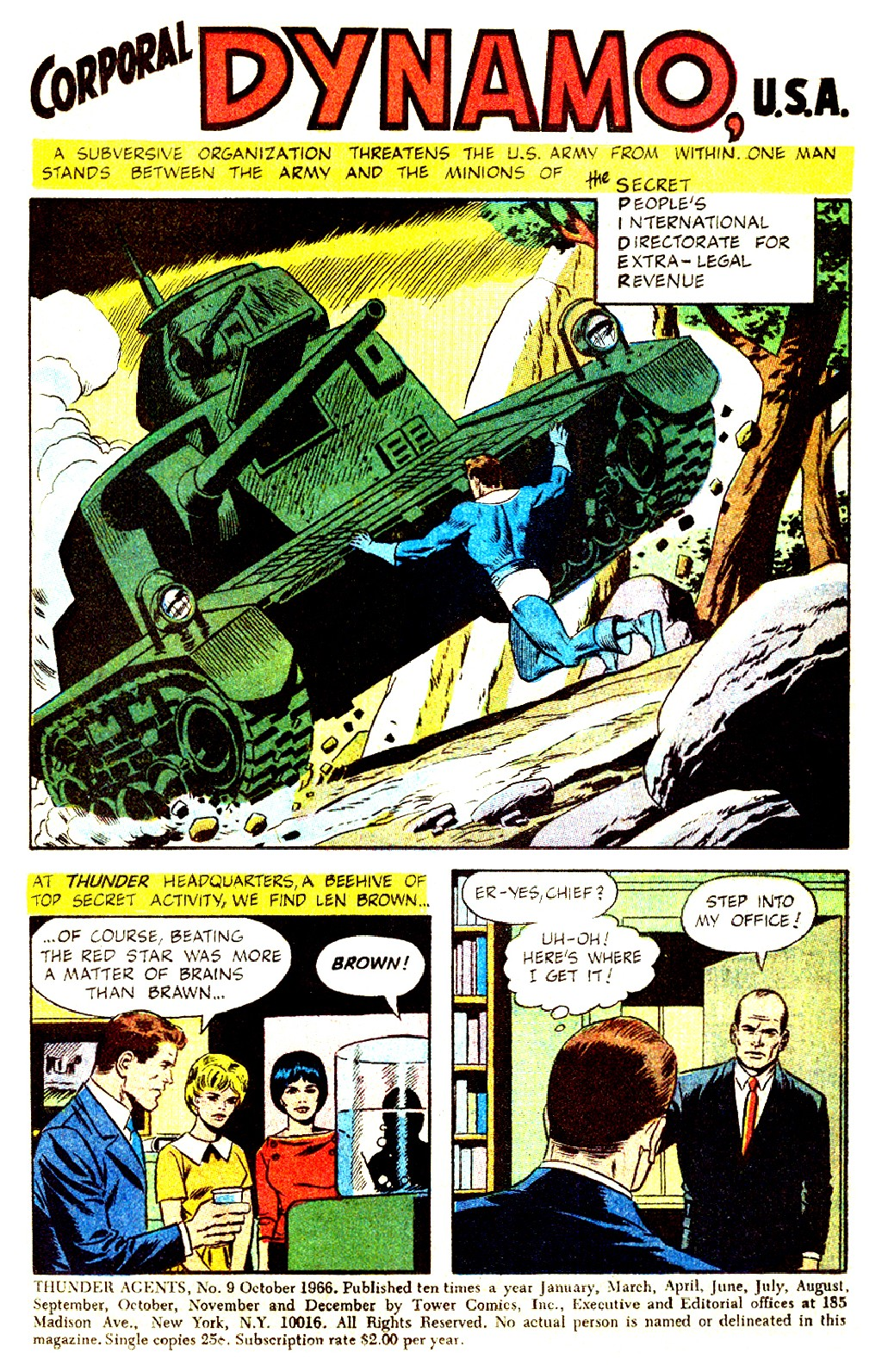 T.H.U.N.D.E.R. Agents (1965) issue 9 - Page 3