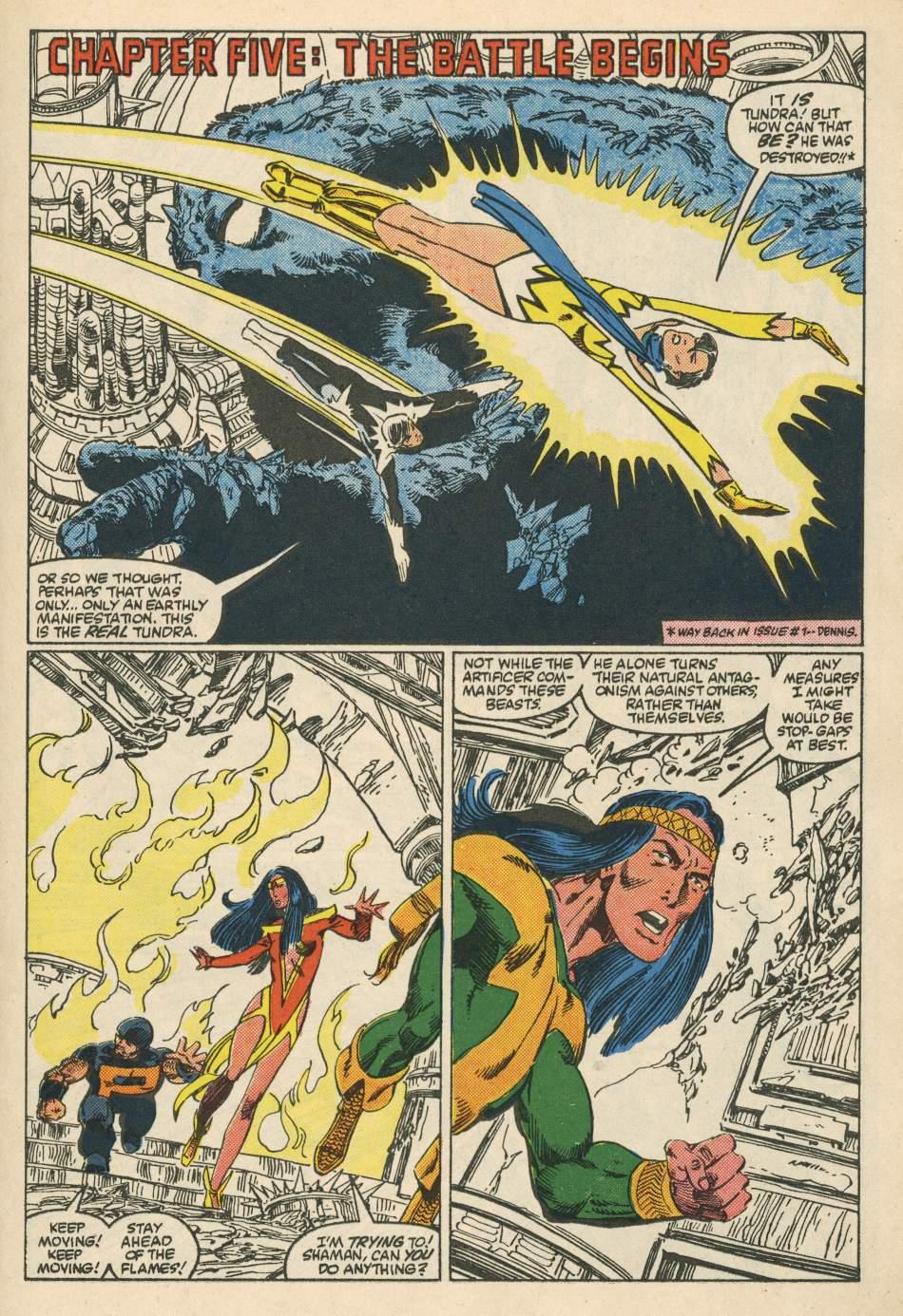 Read online Alpha Flight (1983) comic -  Issue #24 - 19