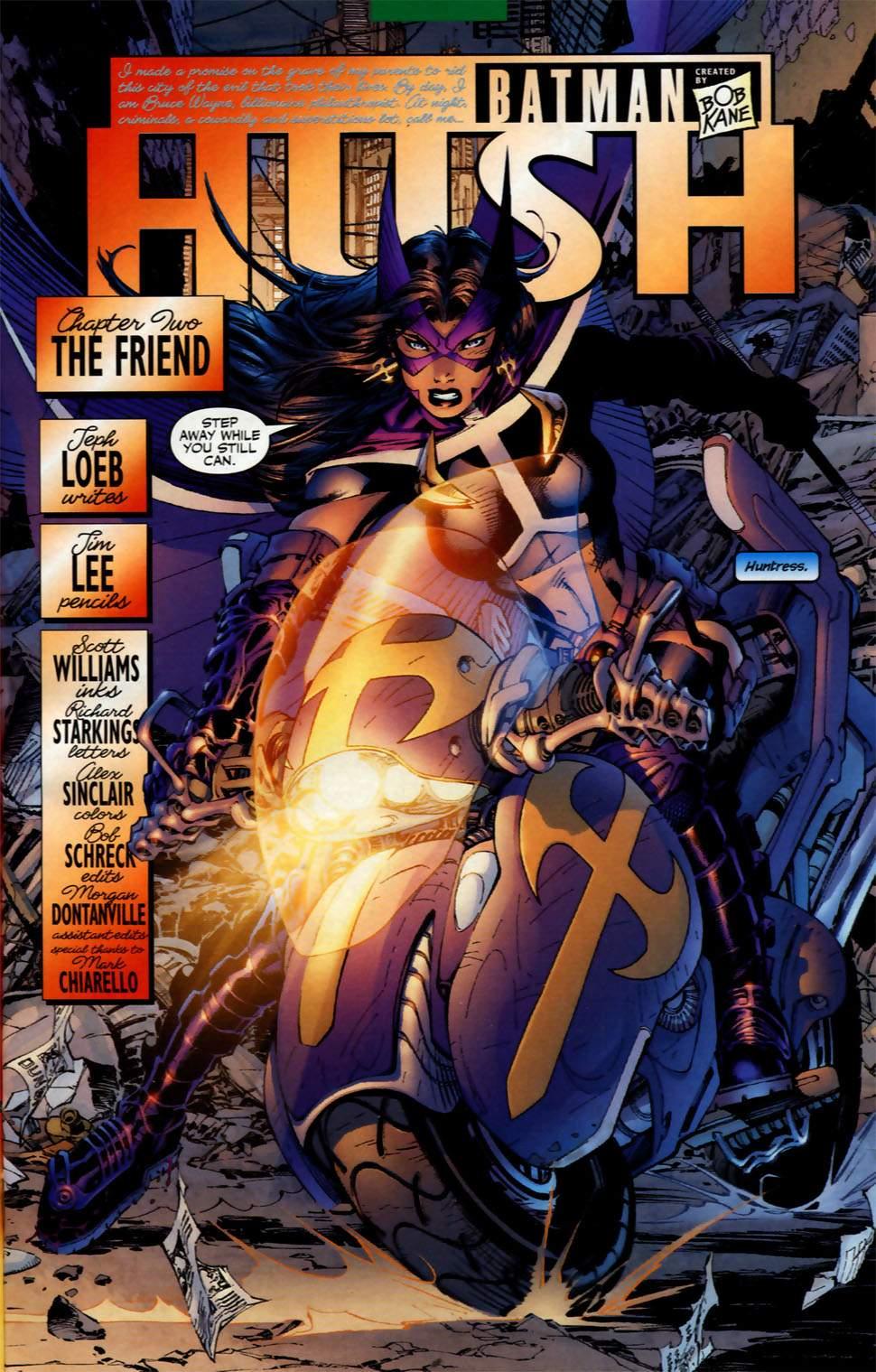 Read online Batman: Hush comic -  Issue #2 - 5