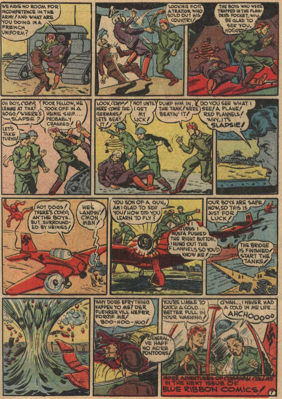 Blue Ribbon Comics (1939) issue 7 - Page 41