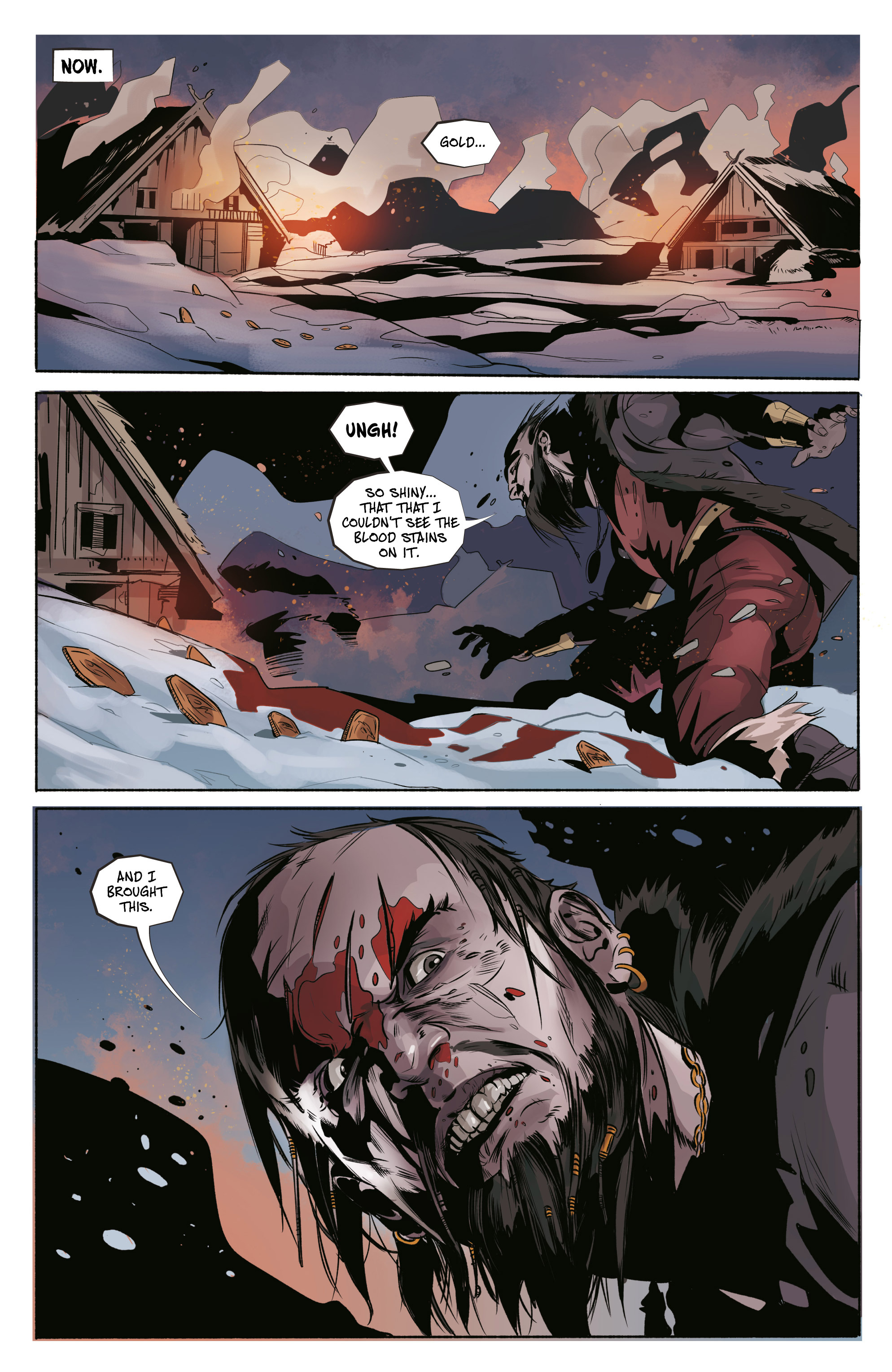 Read online Ghost Wolf comic -  Issue #4 - 5