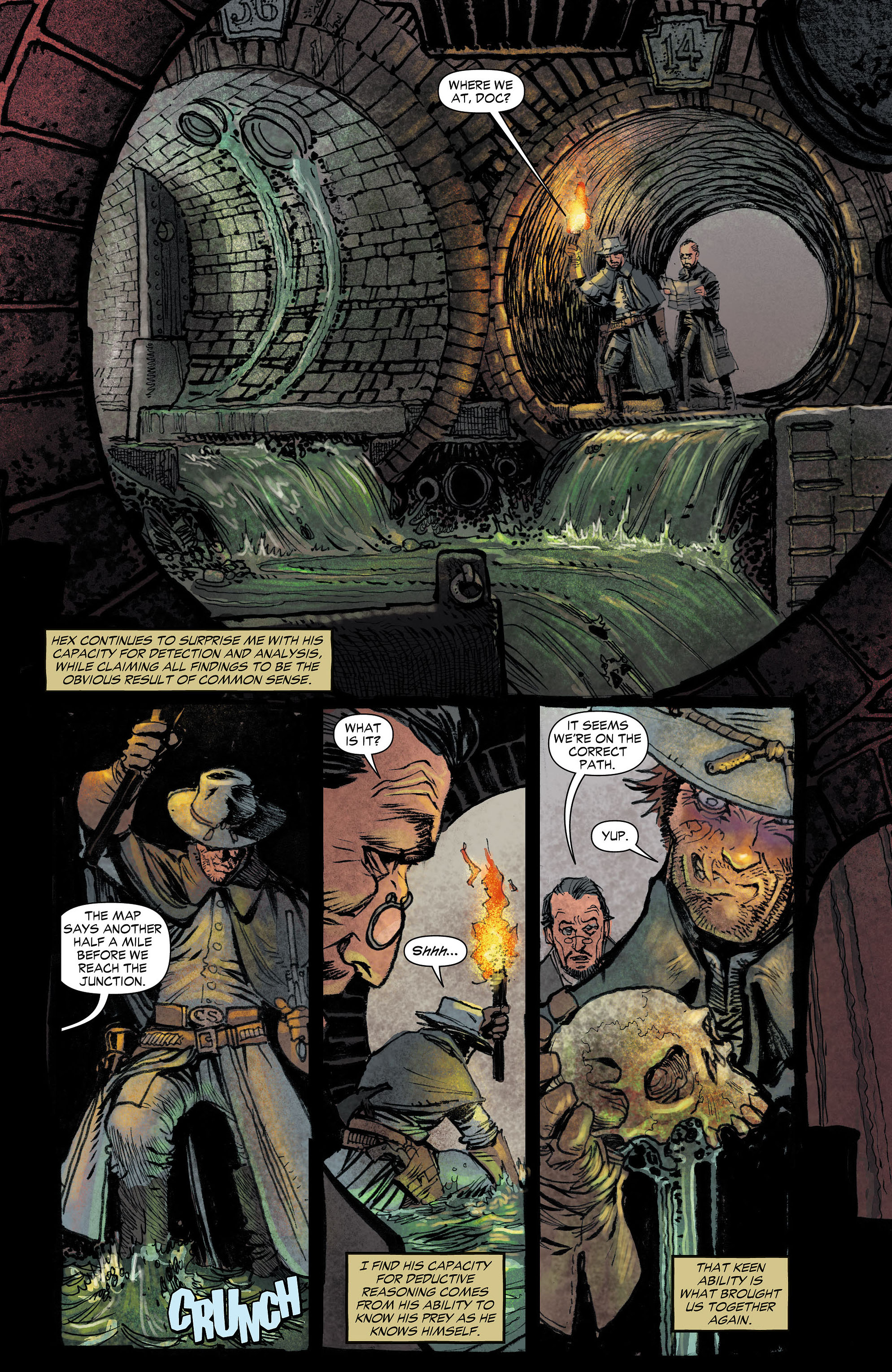 Read online All-Star Western (2011) comic -  Issue #4 - 10