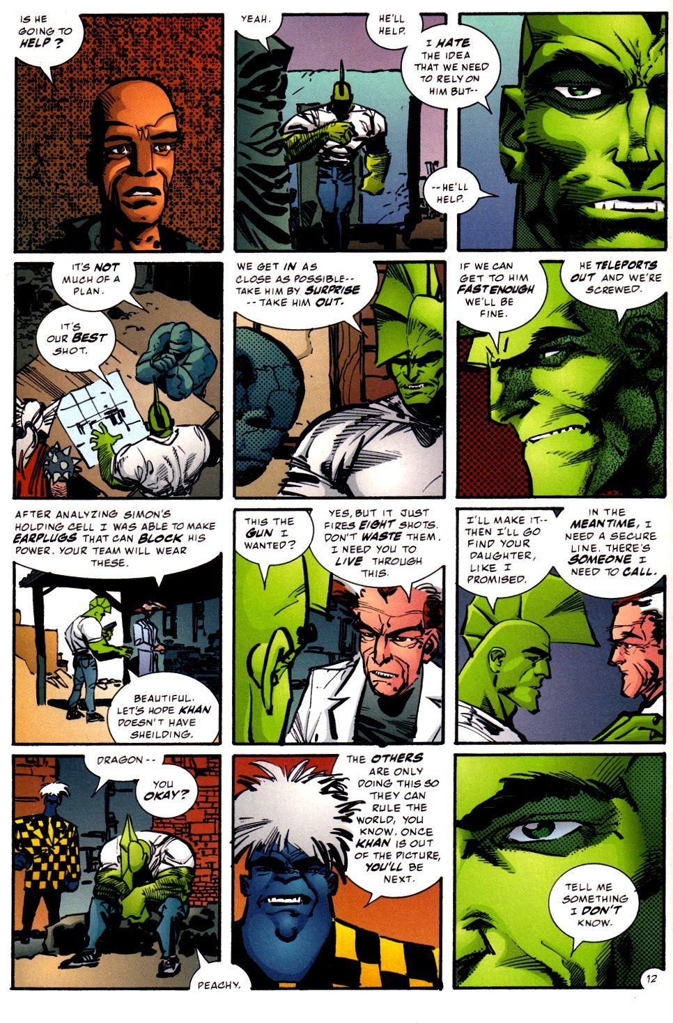 The Savage Dragon (1993) Issue #93 #96 - English 12