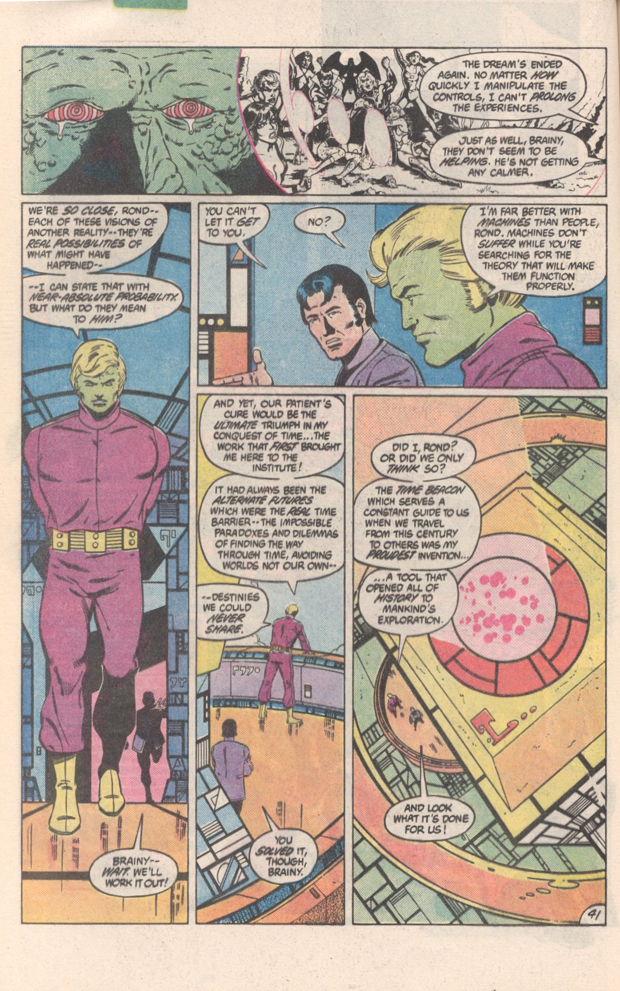 Legion of Super-Heroes (1980) 300 Page 41