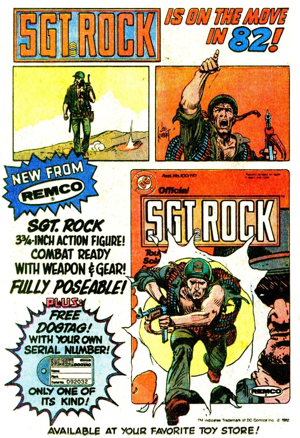Read online Sgt. Rock comic -  Issue #370 - 24