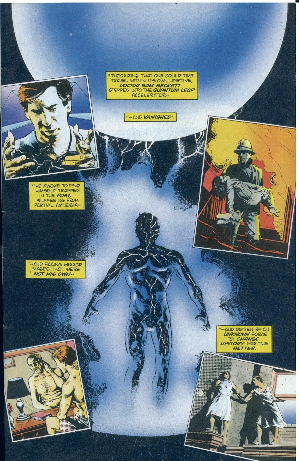 Read online Quantum Leap comic -  Issue #13 - 3