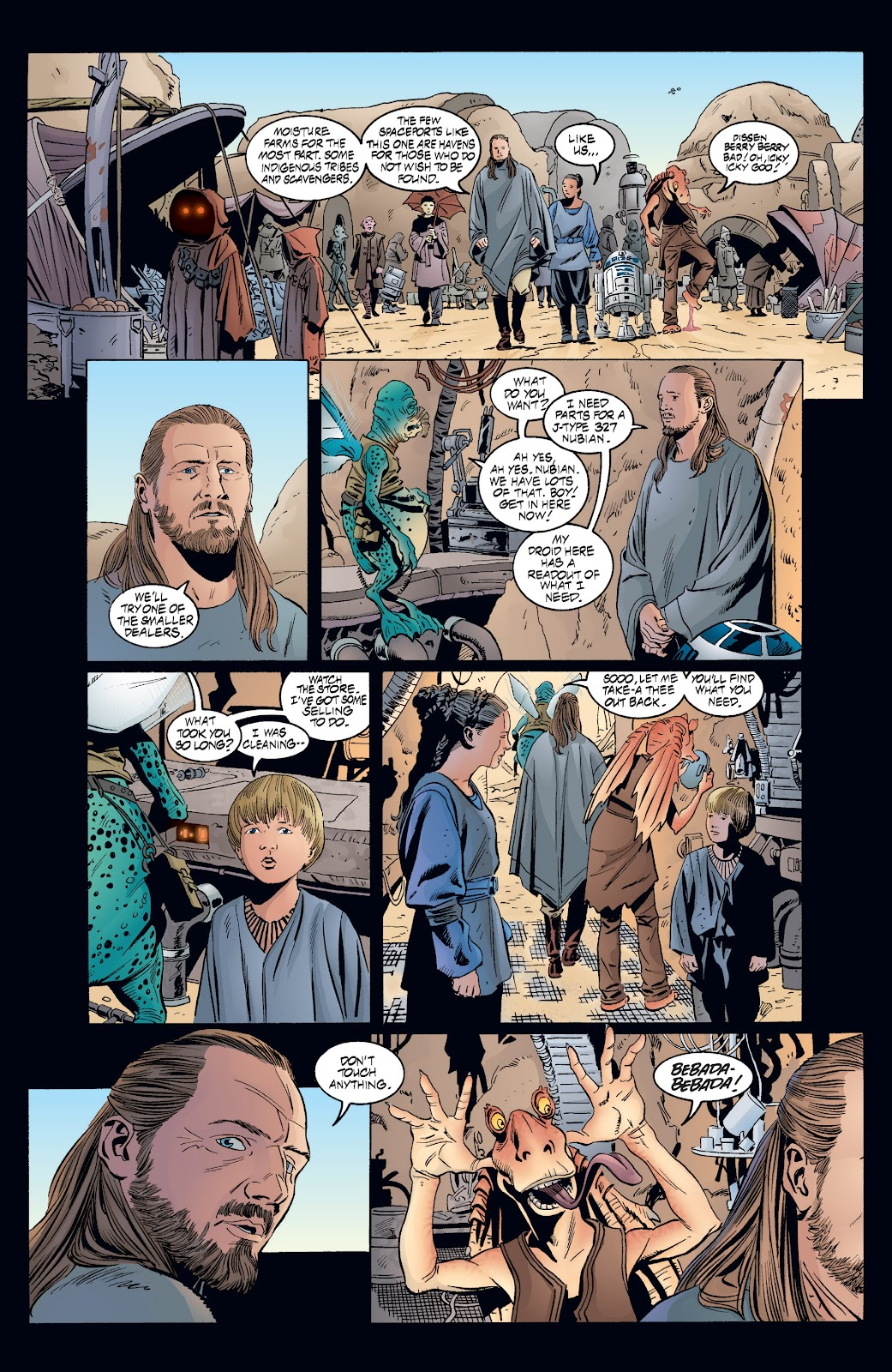 Read online Star Wars Legends: Rise of the Sith - Epic Collection comic -  Issue # TPB 2 (Part 3) - 67