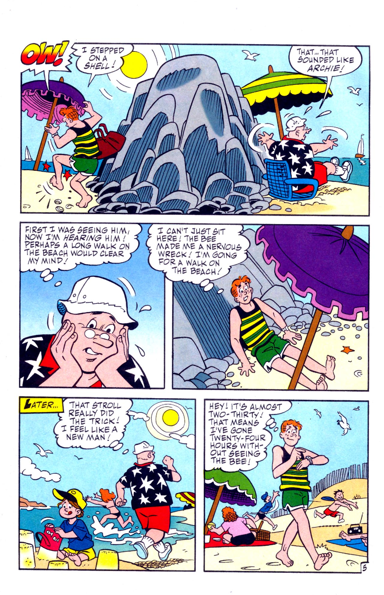 Read online Archie (1960) comic -  Issue #575 - 6