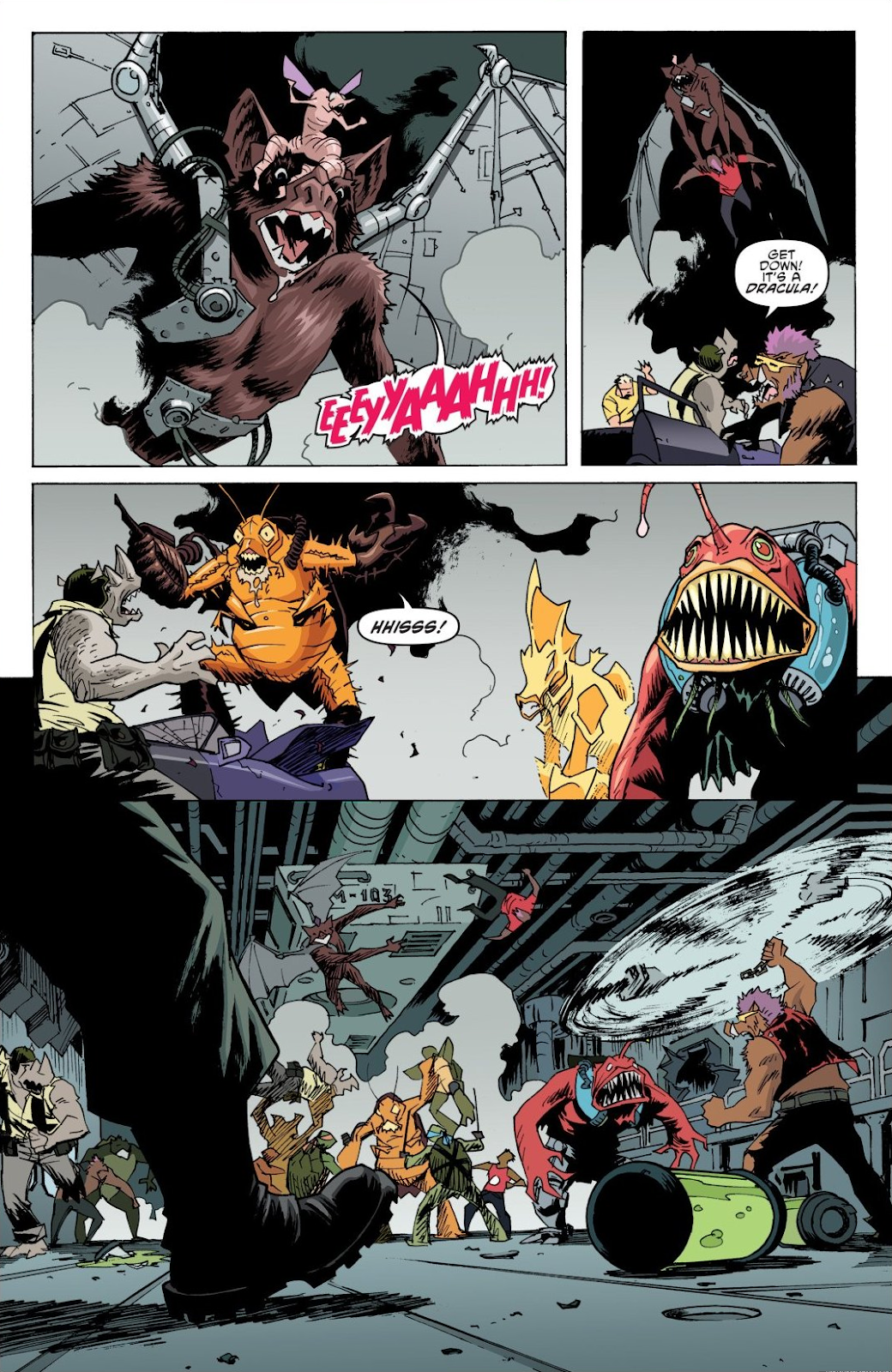 Read online Teenage Mutant Ninja Turtles: The IDW Collection comic -  Issue # TPB 8 (Part 1) - 64