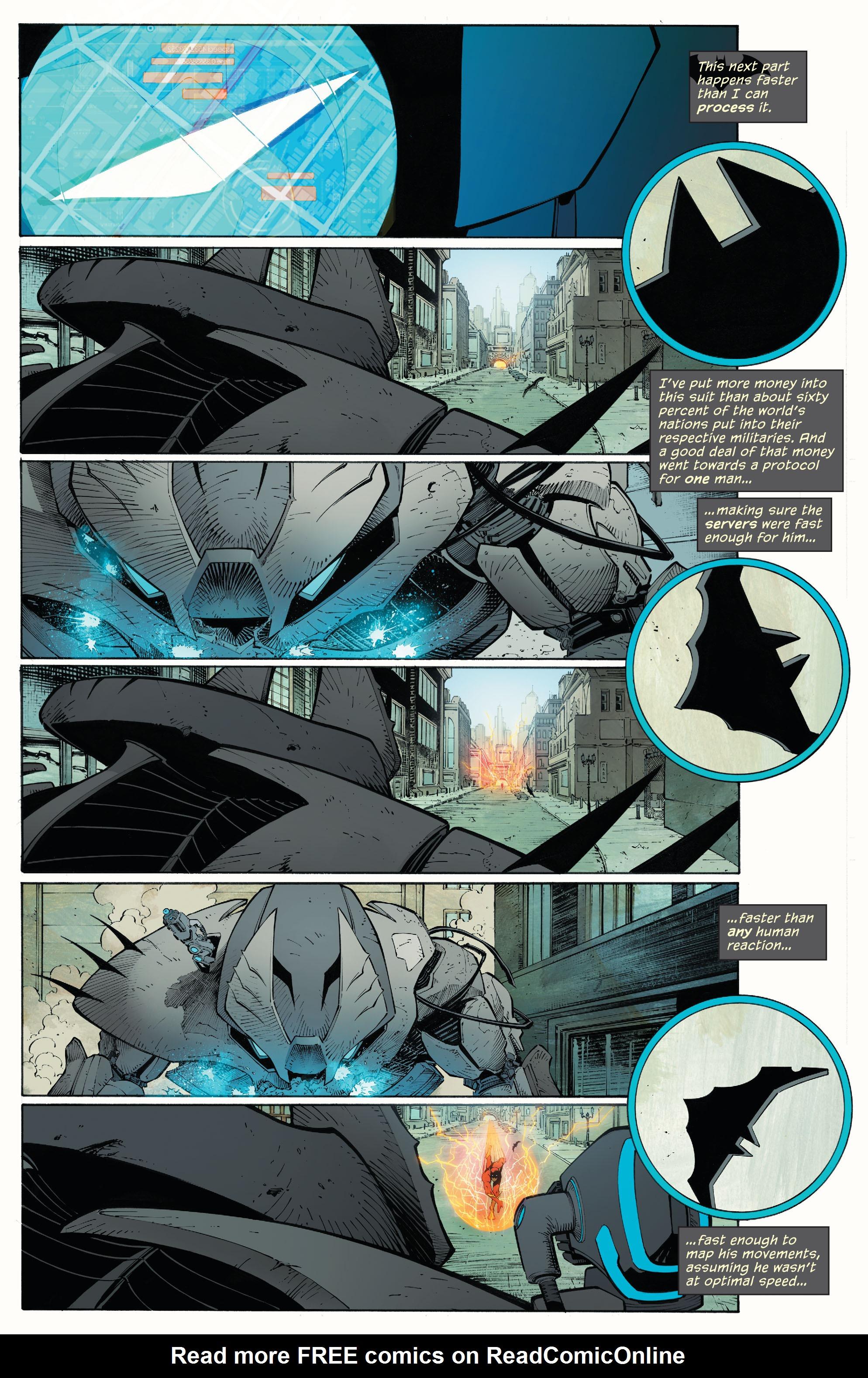 Read online Batman (2011) comic -  Issue # _TPB 7 - 21