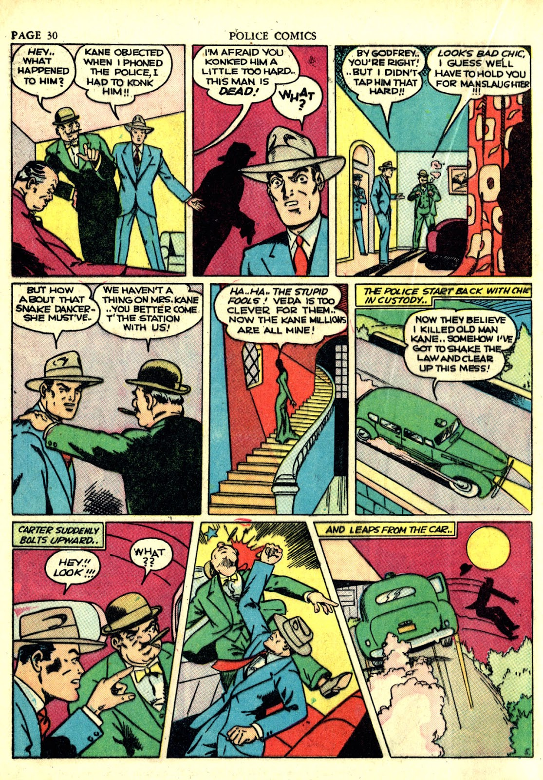 Police Comics issue 6 - Page 33