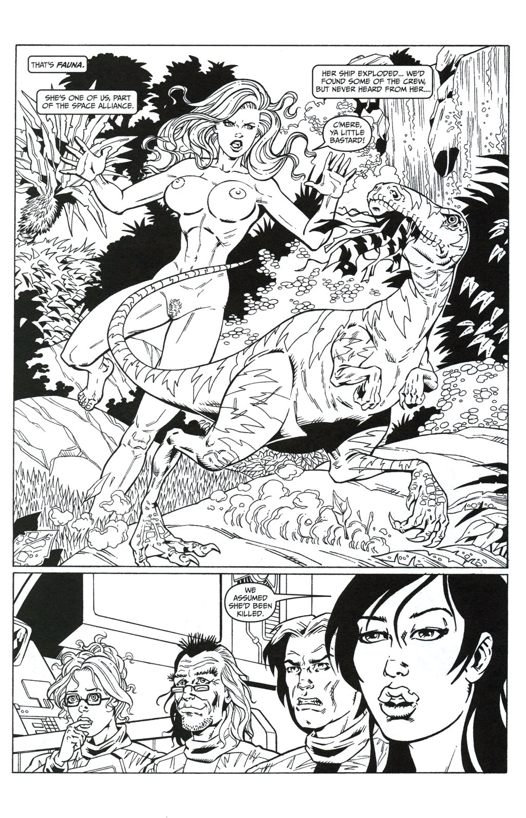 Read online Jungle Fantasy (2002) comic -  Issue #5 - 9