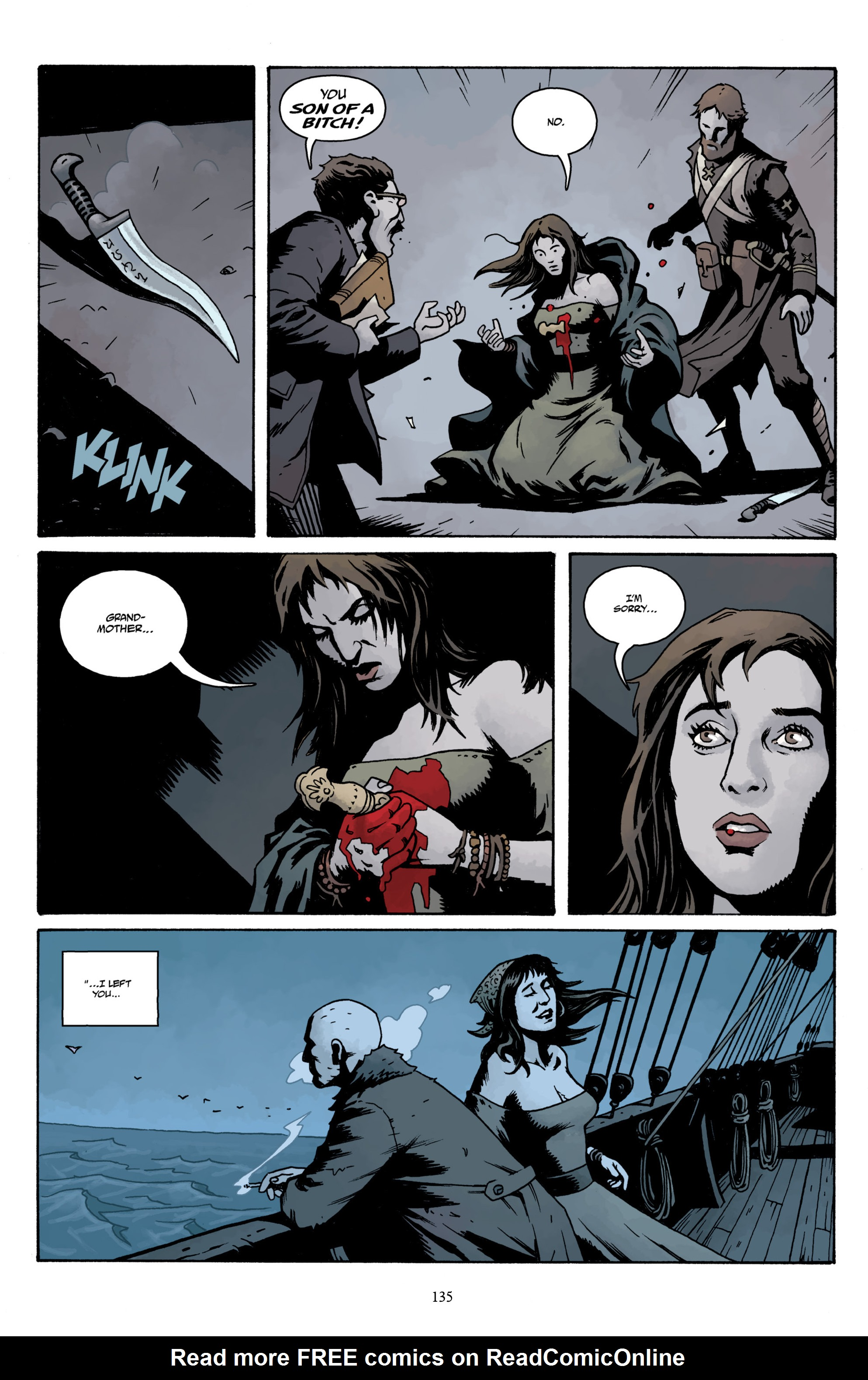 Read online Baltimore Volume 3: A Passing Stranger and Other Stories comic -  Issue # Full - 137