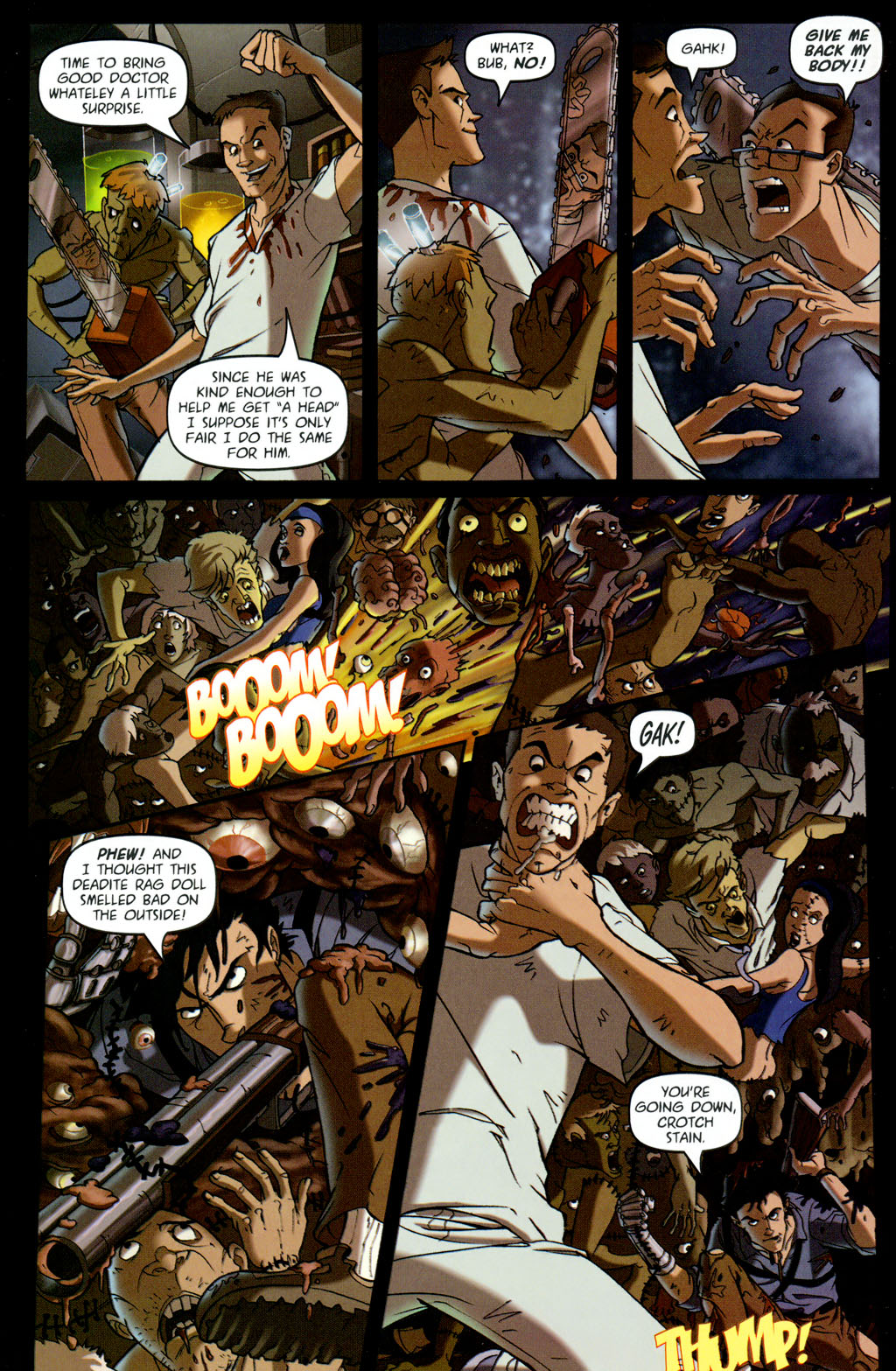 Read online Army of Darkness vs. Re-Animator comic -  Issue #4 - 18
