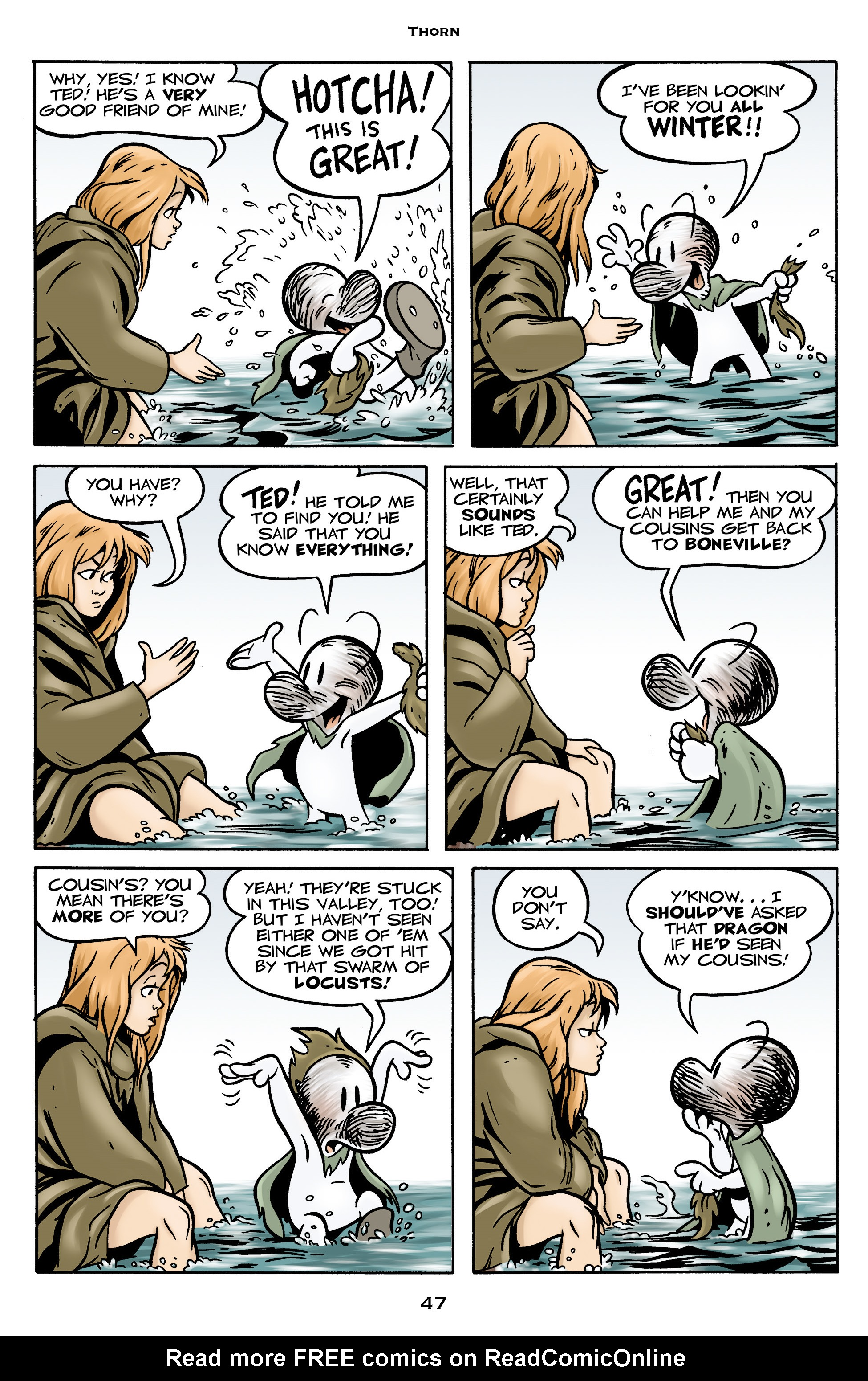 Read online Bone: Out From Boneville comic -  Issue # TPB - 47