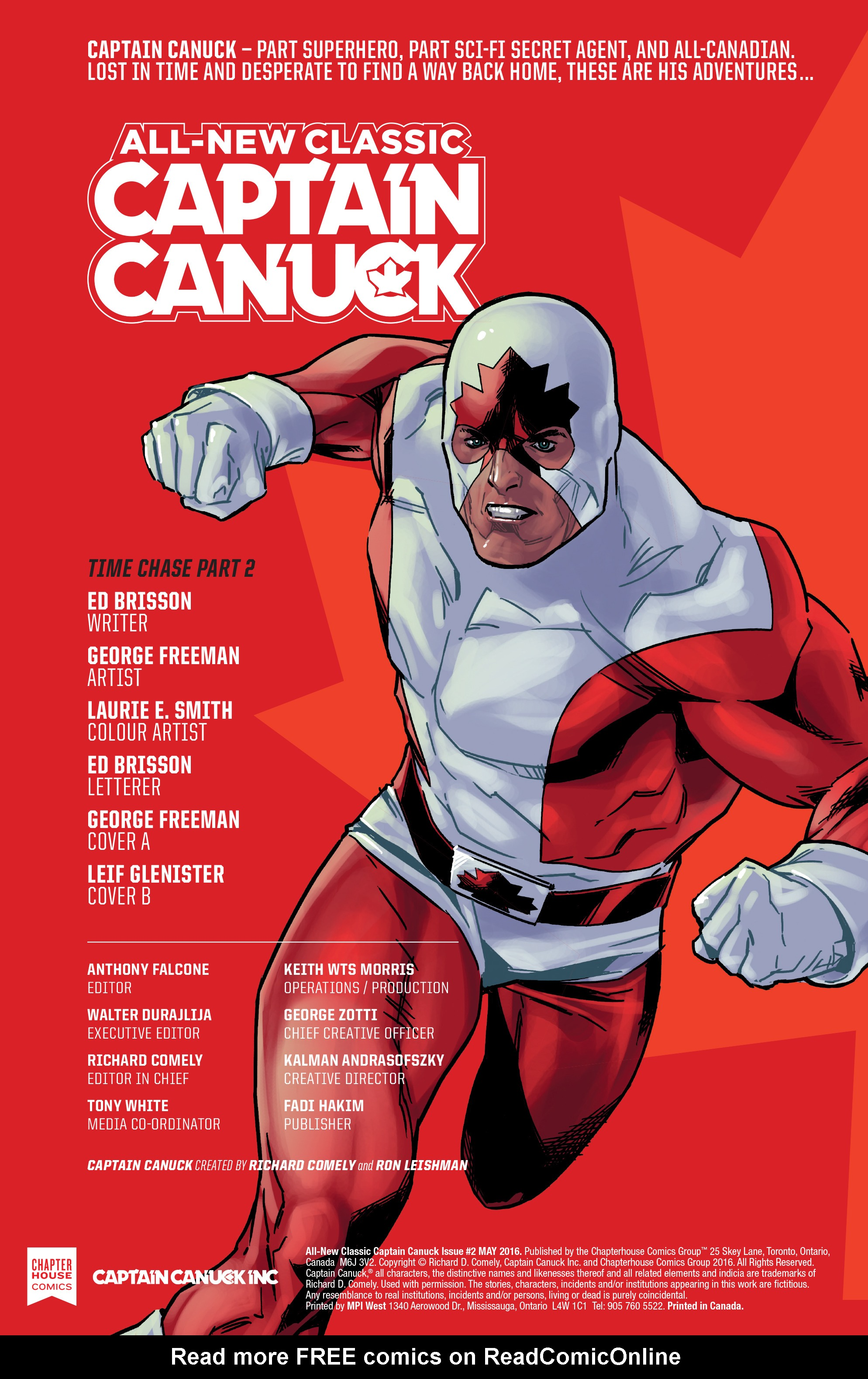Read online All-New Classic Captain Canuck comic -  Issue #2 - 2