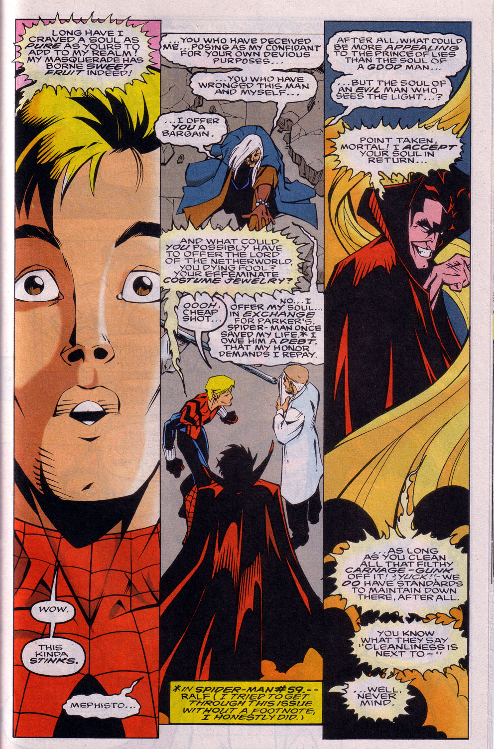 Read online 101 Ways to End the Clone Saga comic -  Issue #101 Ways to End the Clone Saga Full - 23