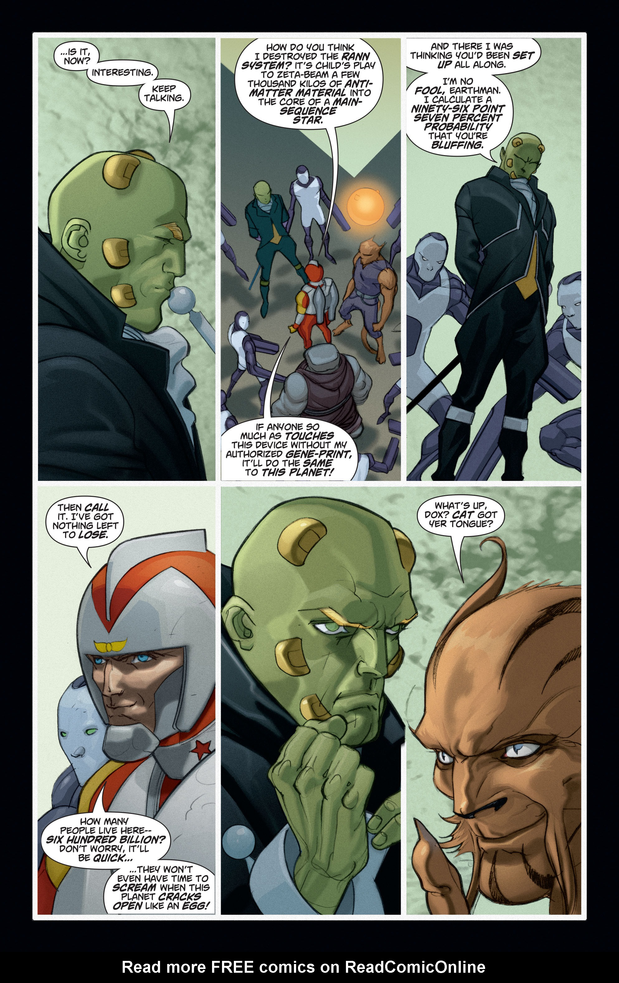 Read online Adam Strange (2004) comic -  Issue #6 - 19