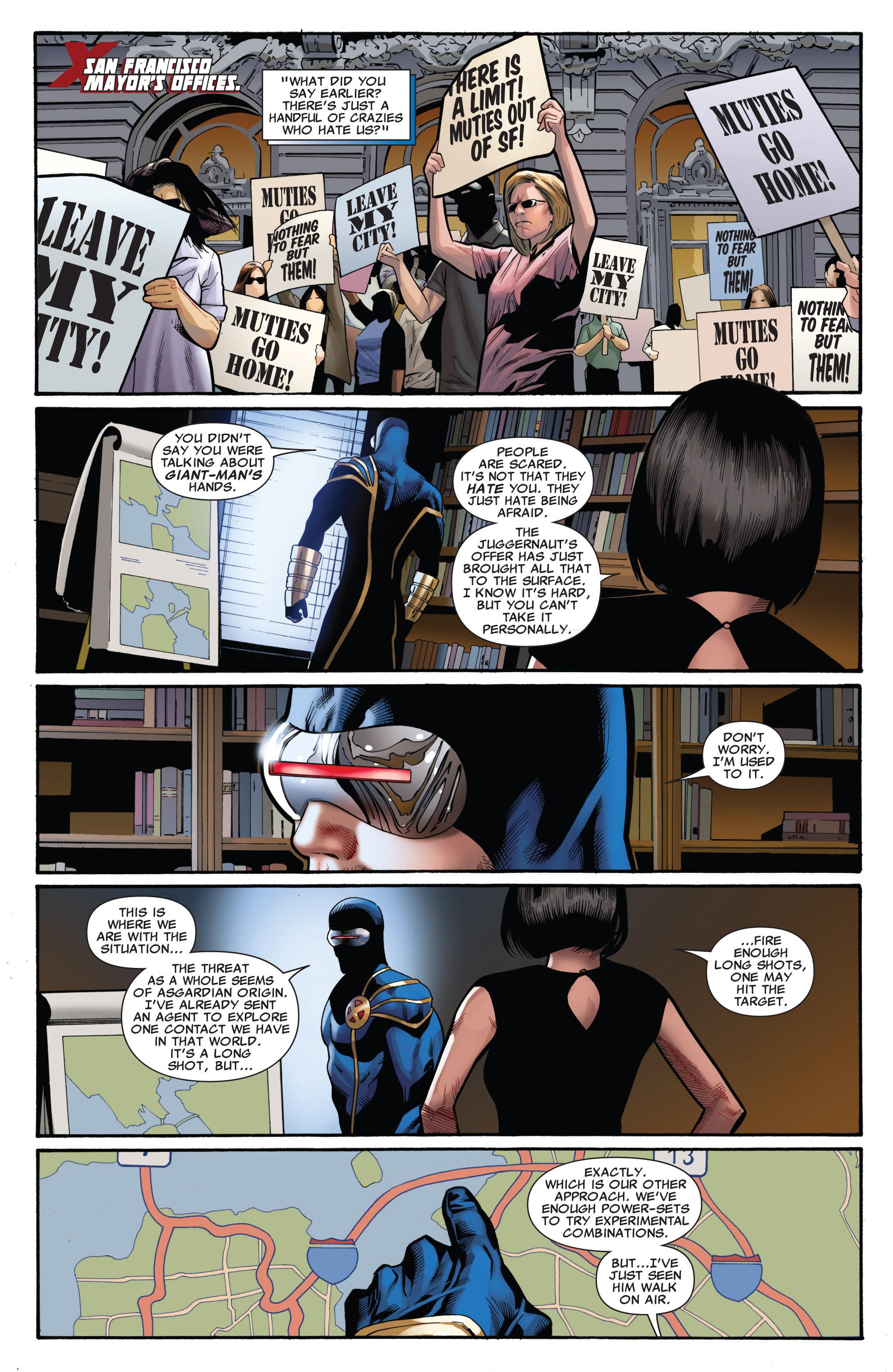 Read online Uncanny X-Men (1963) comic -  Issue #542 - 5
