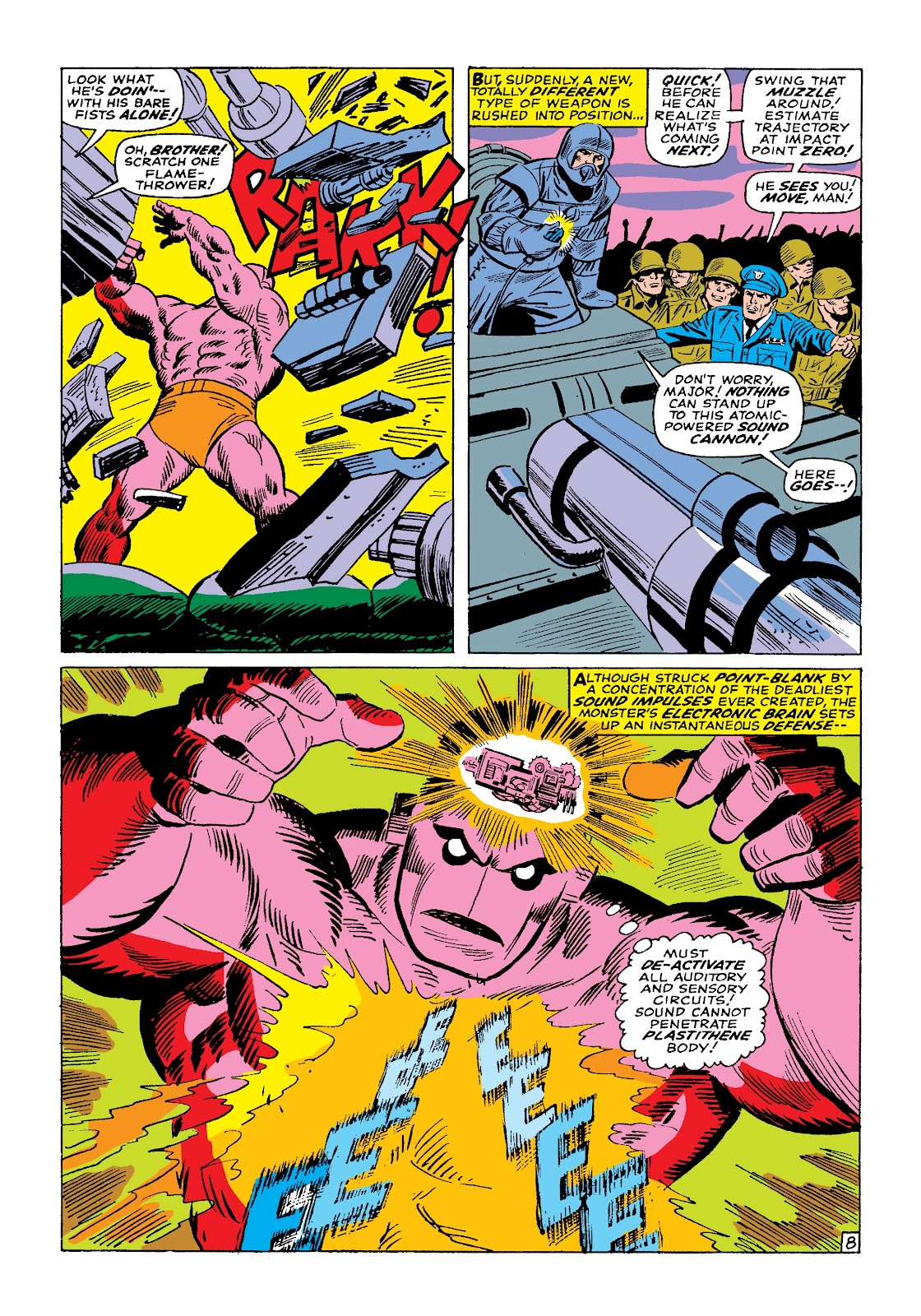 Read online Marvel Masterworks: The Incredible Hulk comic -  Issue # TPB 3 (Part 1) - 81