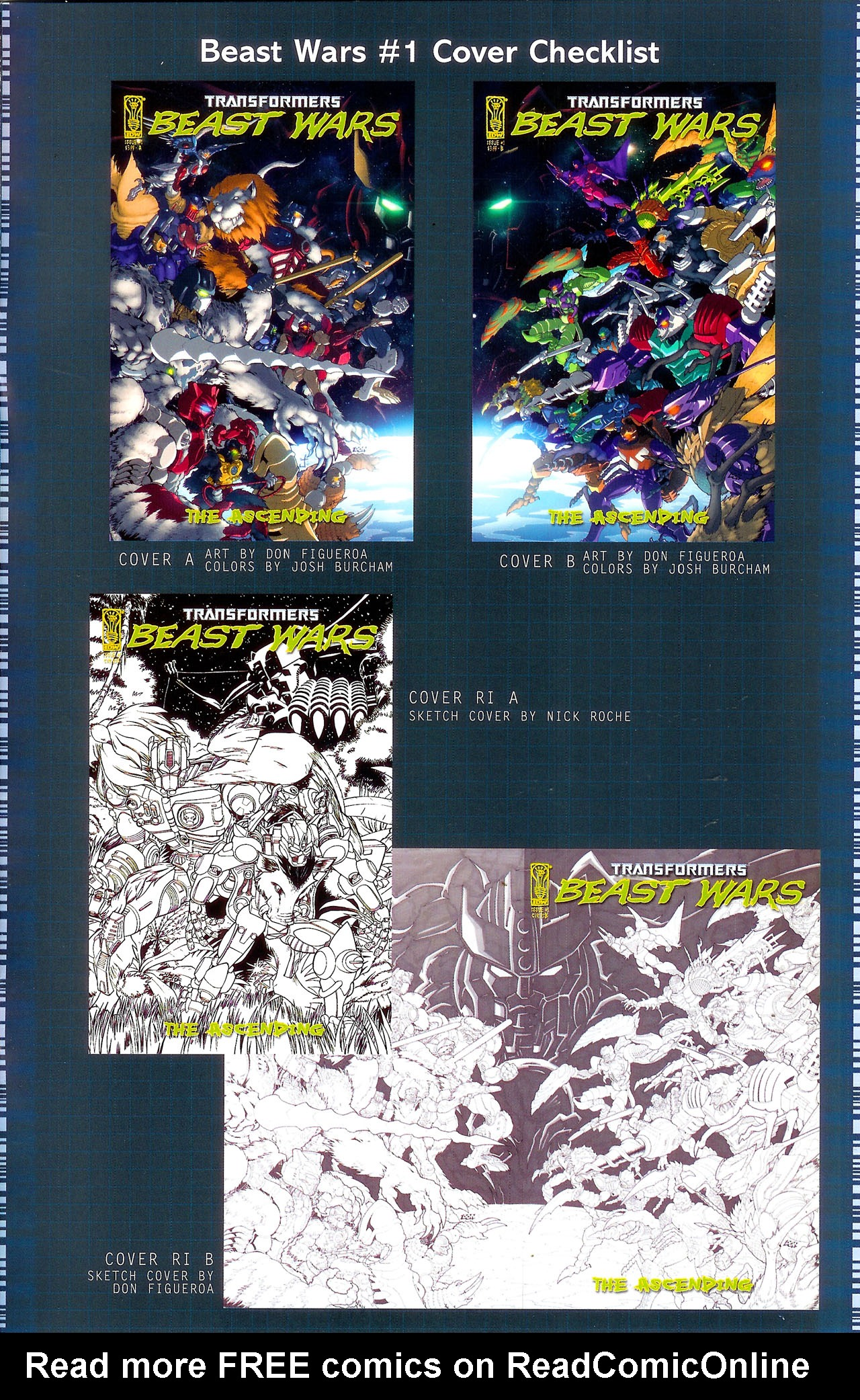 Read online Transformers: Beast Wars: The Ascending comic -  Issue #1 - 26