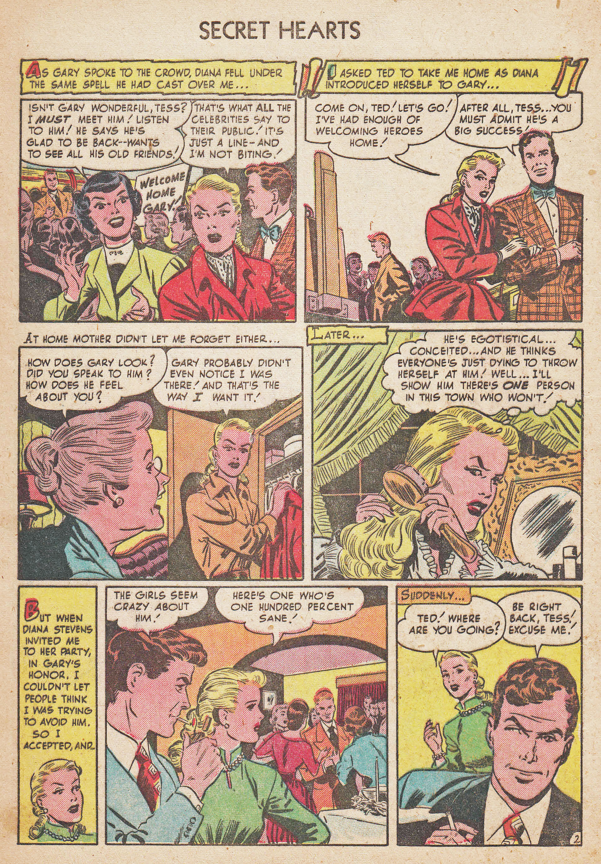 Read online Secret Hearts comic -  Issue #7 - 4