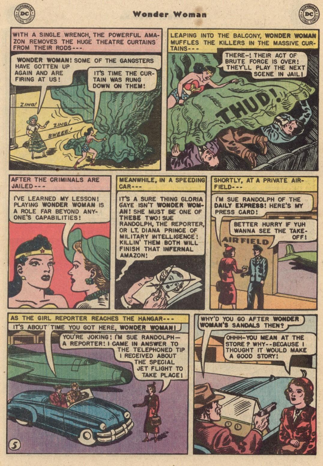 Comic Wonder Woman (1942) issue 62