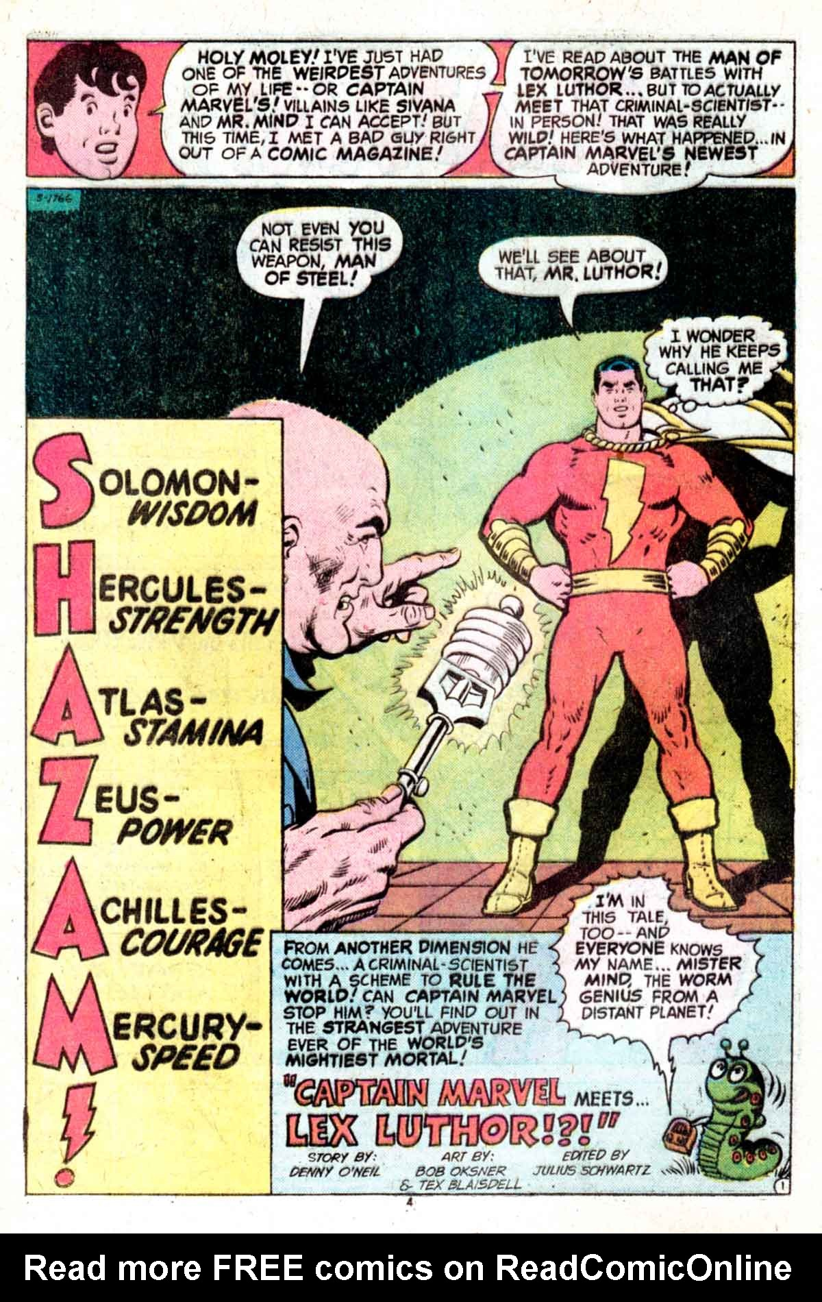 Read online Shazam! (1973) comic -  Issue #15 - 4