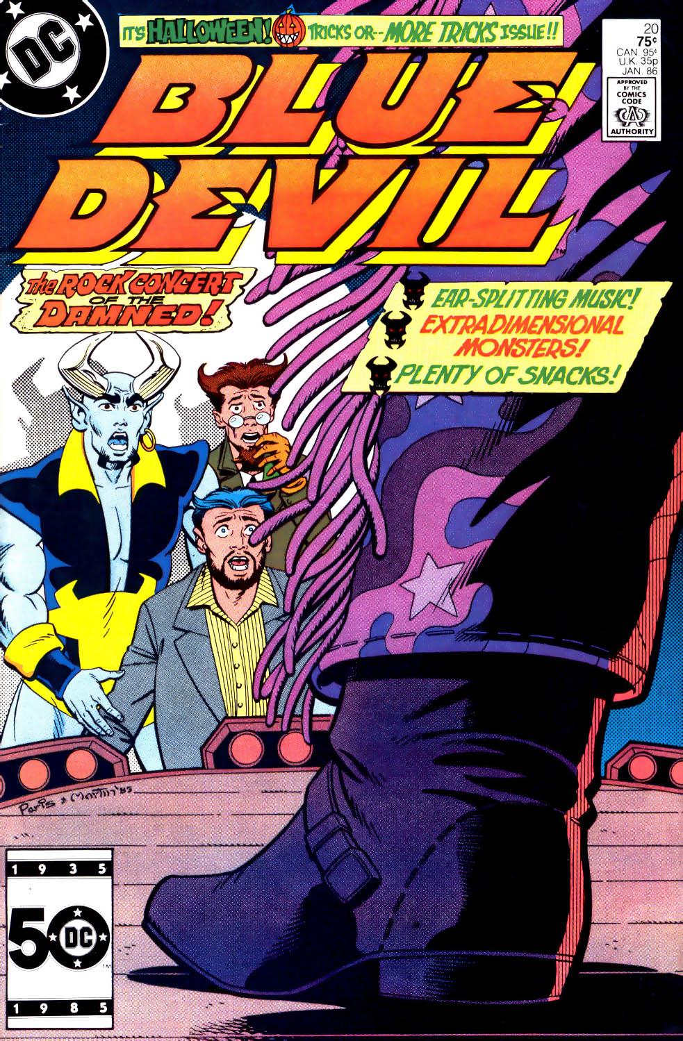 Blue Devil 20 Page 1