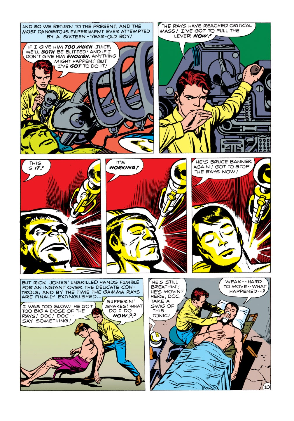 Read online Marvel Masterworks: The Incredible Hulk comic -  Issue # TPB 1 (Part 1) - 88