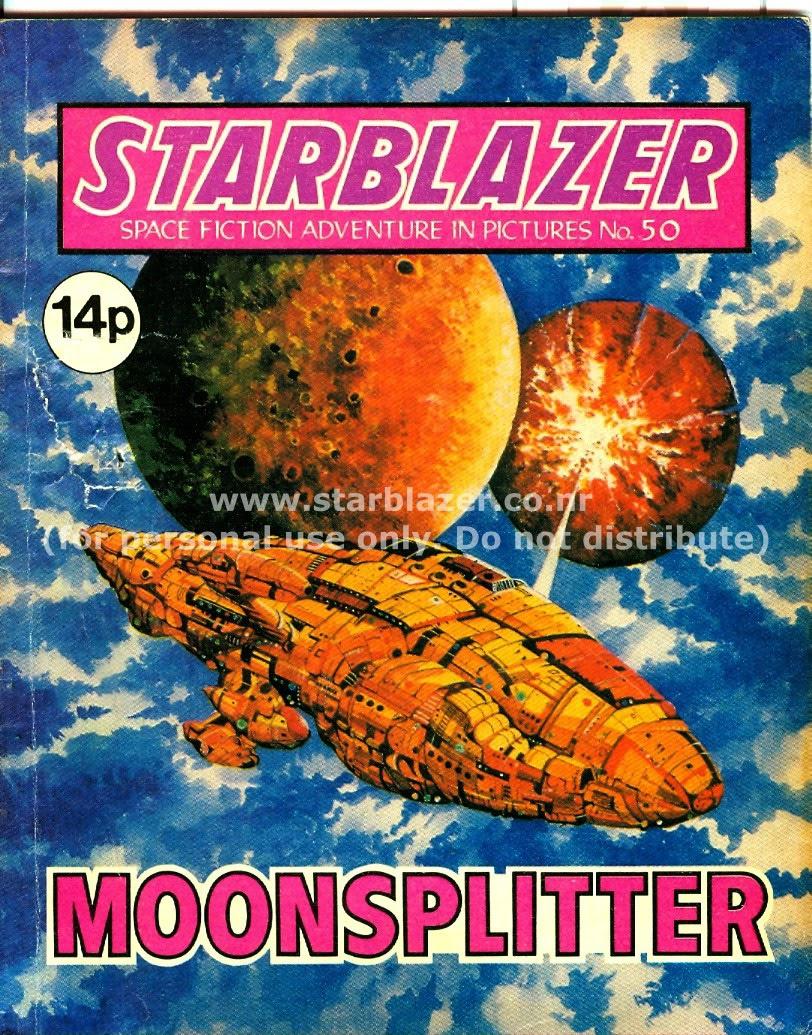Starblazer issue 50 - Page 1