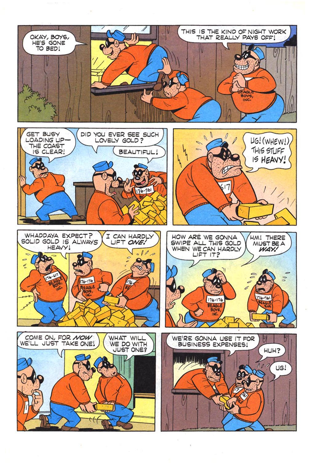 Read online Uncle Scrooge (1953) comic -  Issue #303 - 15