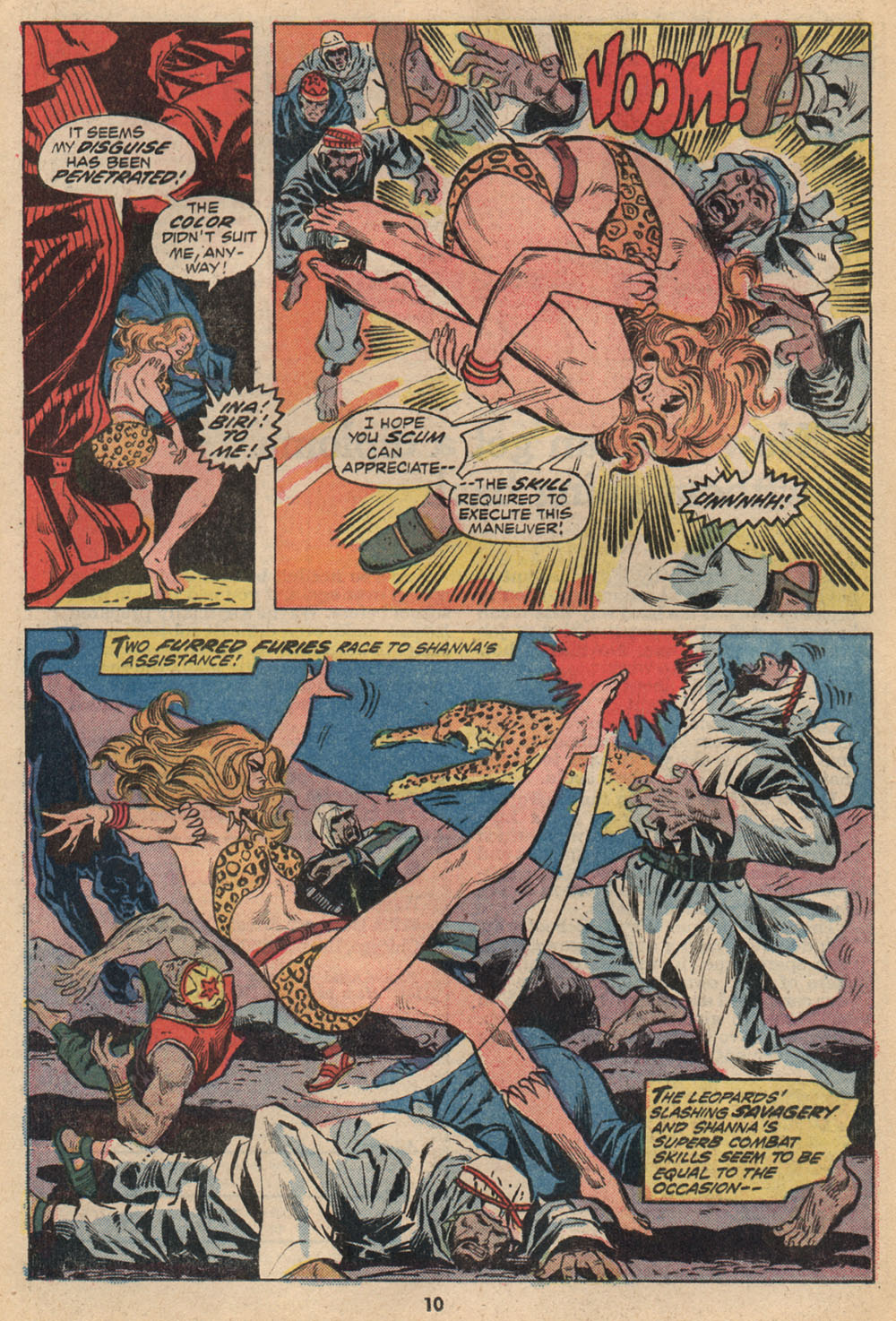 Read online Shanna, the She-Devil (1972) comic -  Issue #2 - 8