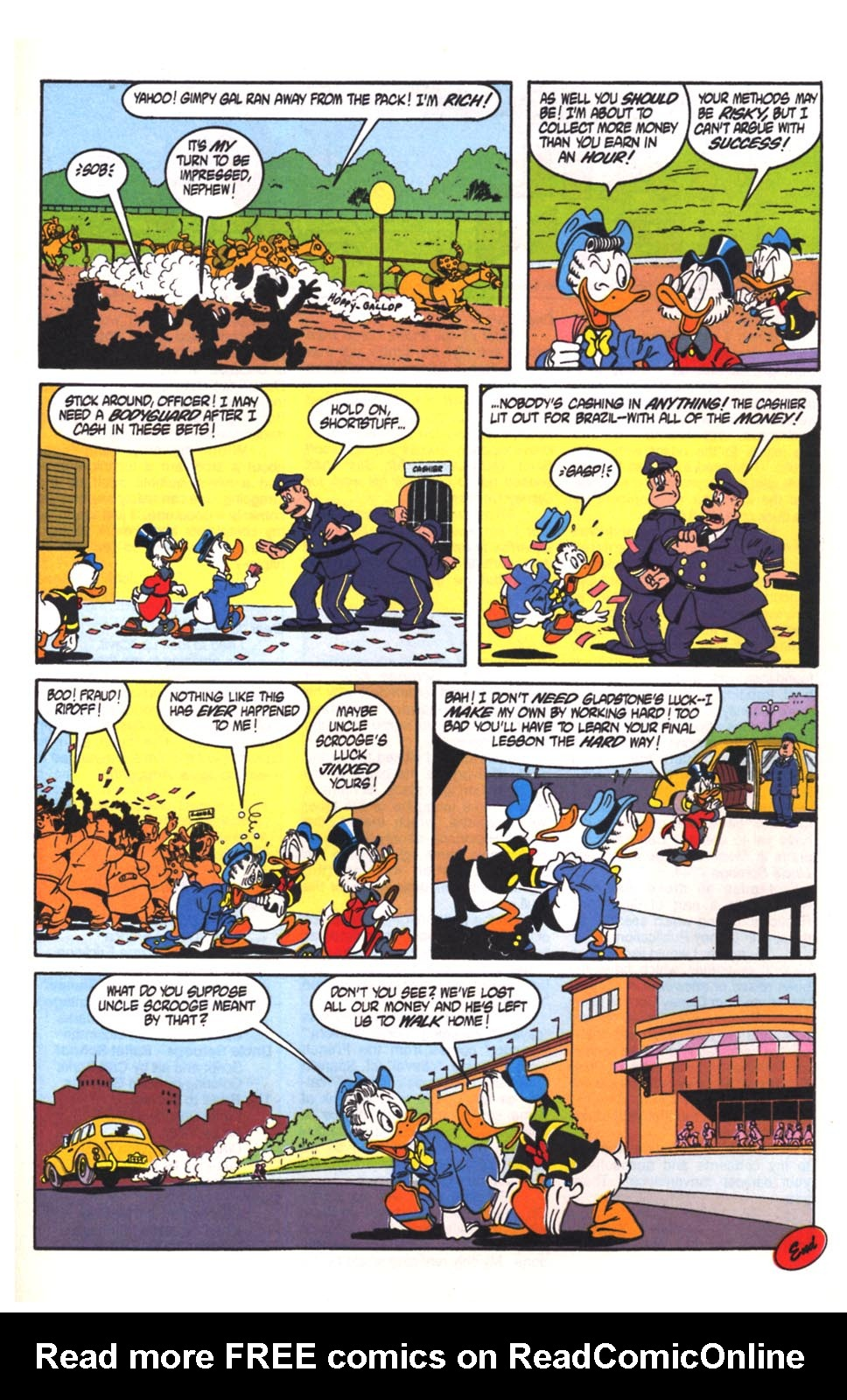 Read online Uncle Scrooge (1953) comic -  Issue #260 - 27