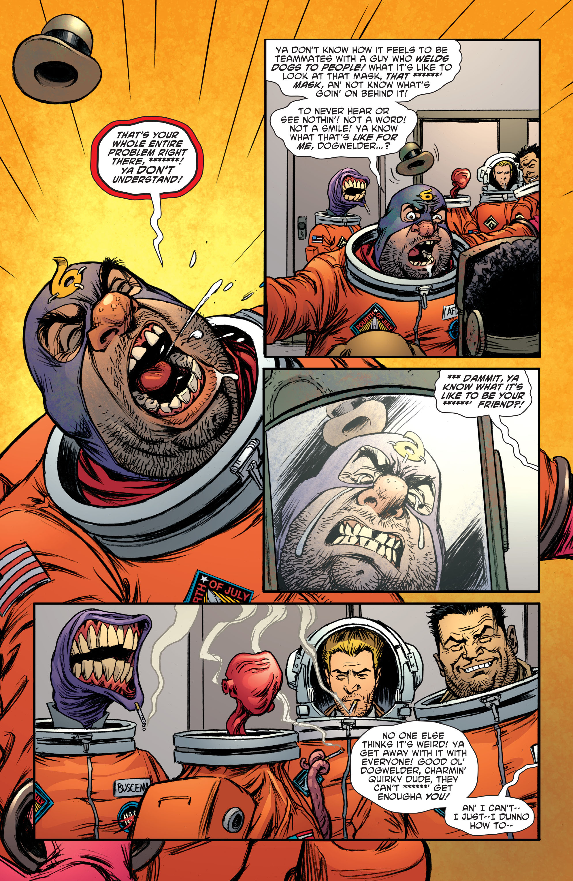 Read online Sixpack and Dogwelder: Hard Travelin' Heroz comic -  Issue #5 - 15