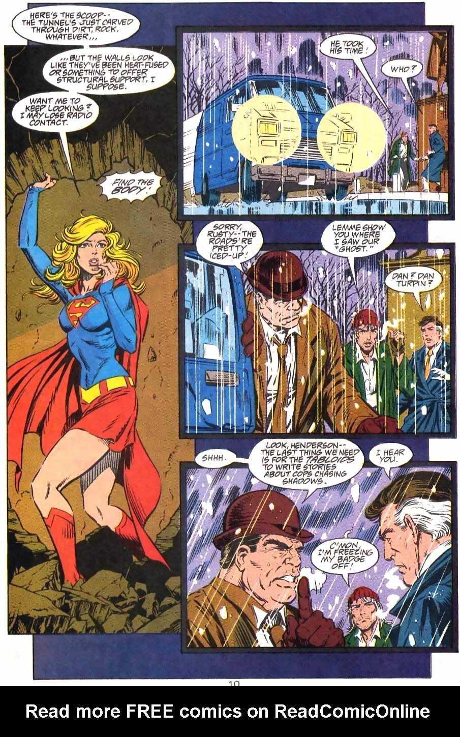 Read online Adventures of Superman (1987) comic -  Issue #499 - 11